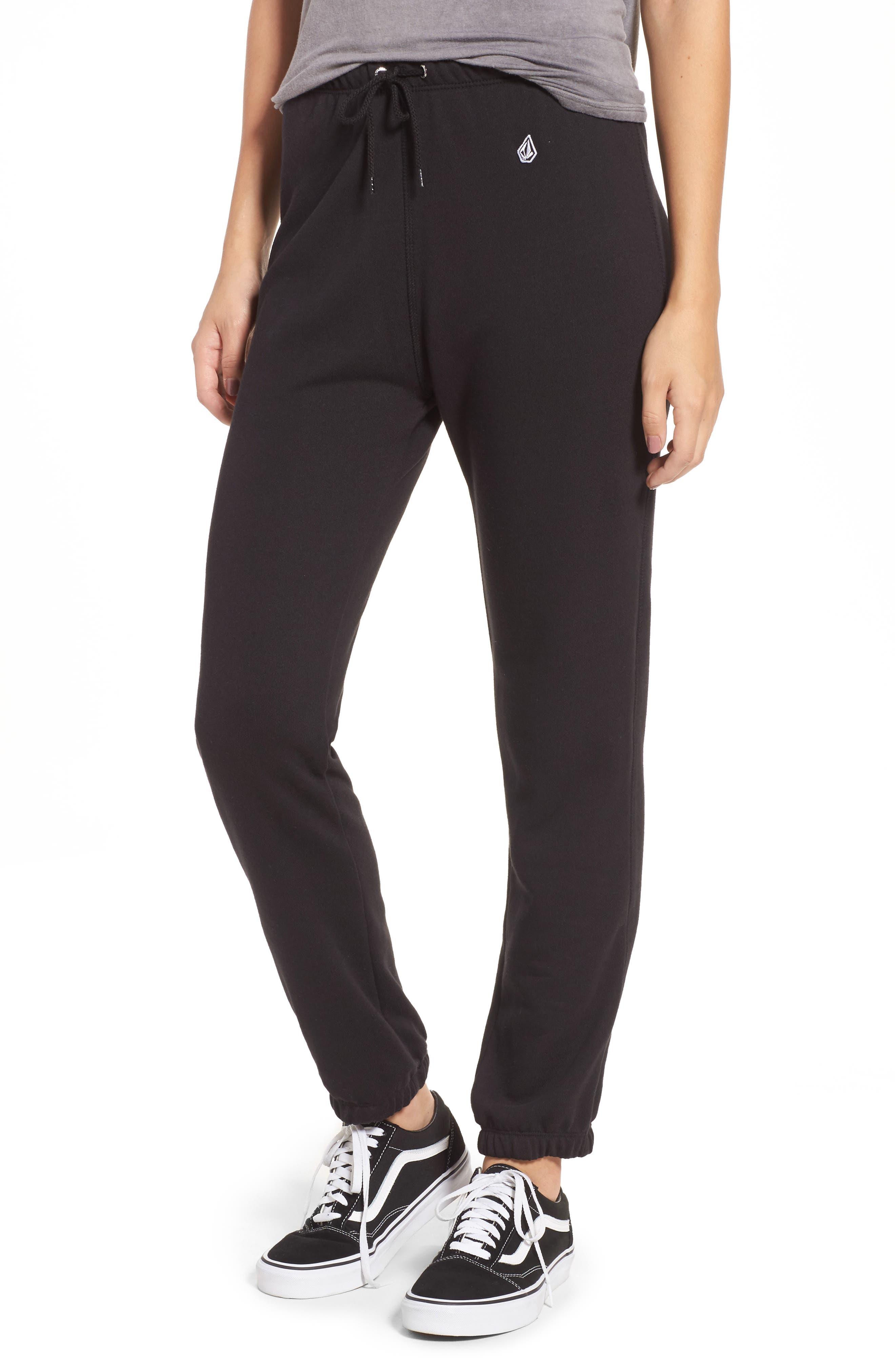 Vol Tower Sweatpants,                         Main,                         color, Black