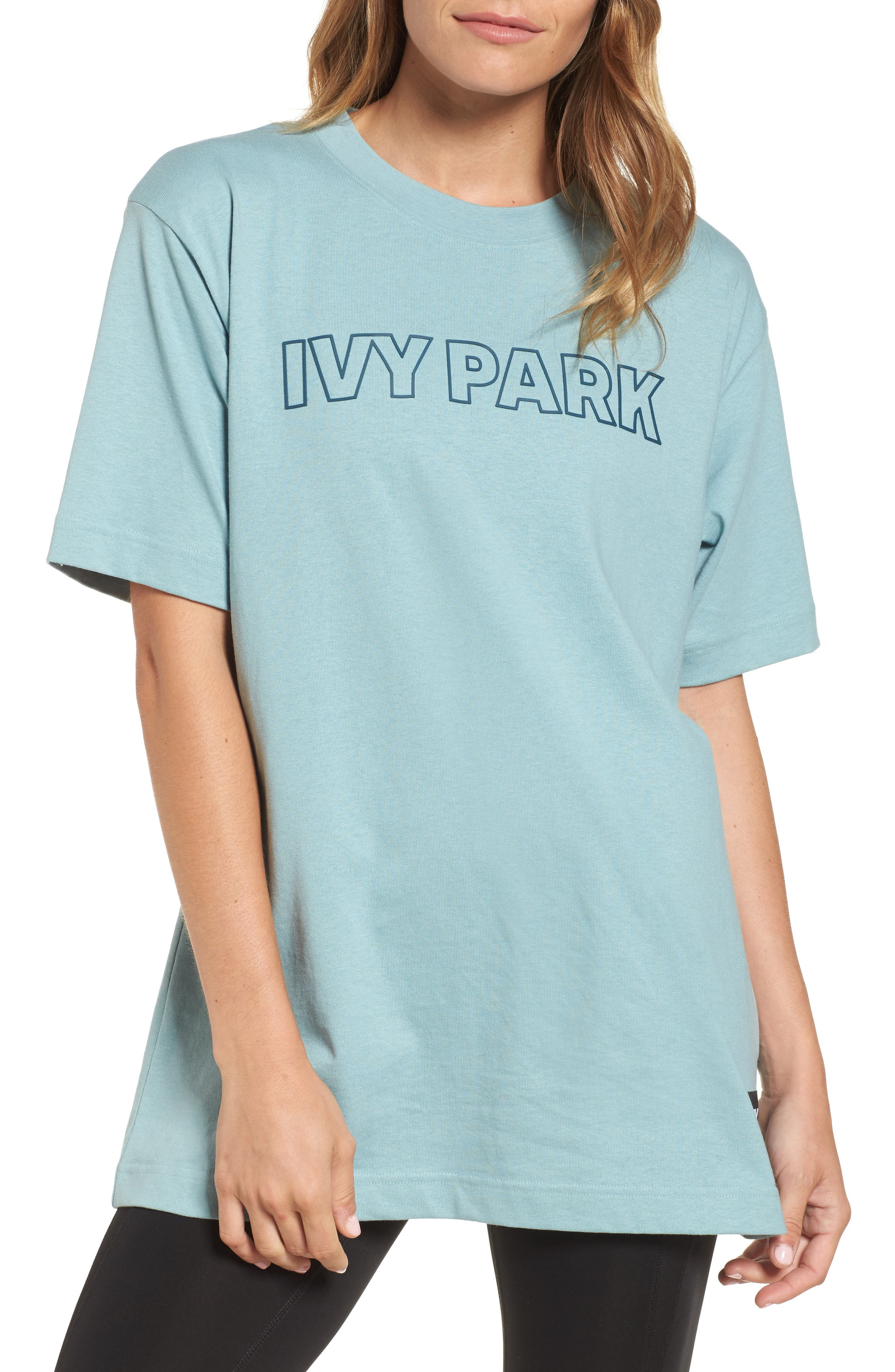 Alternate Image 1 Selected - IVY PARK® Silicone Logo Tee