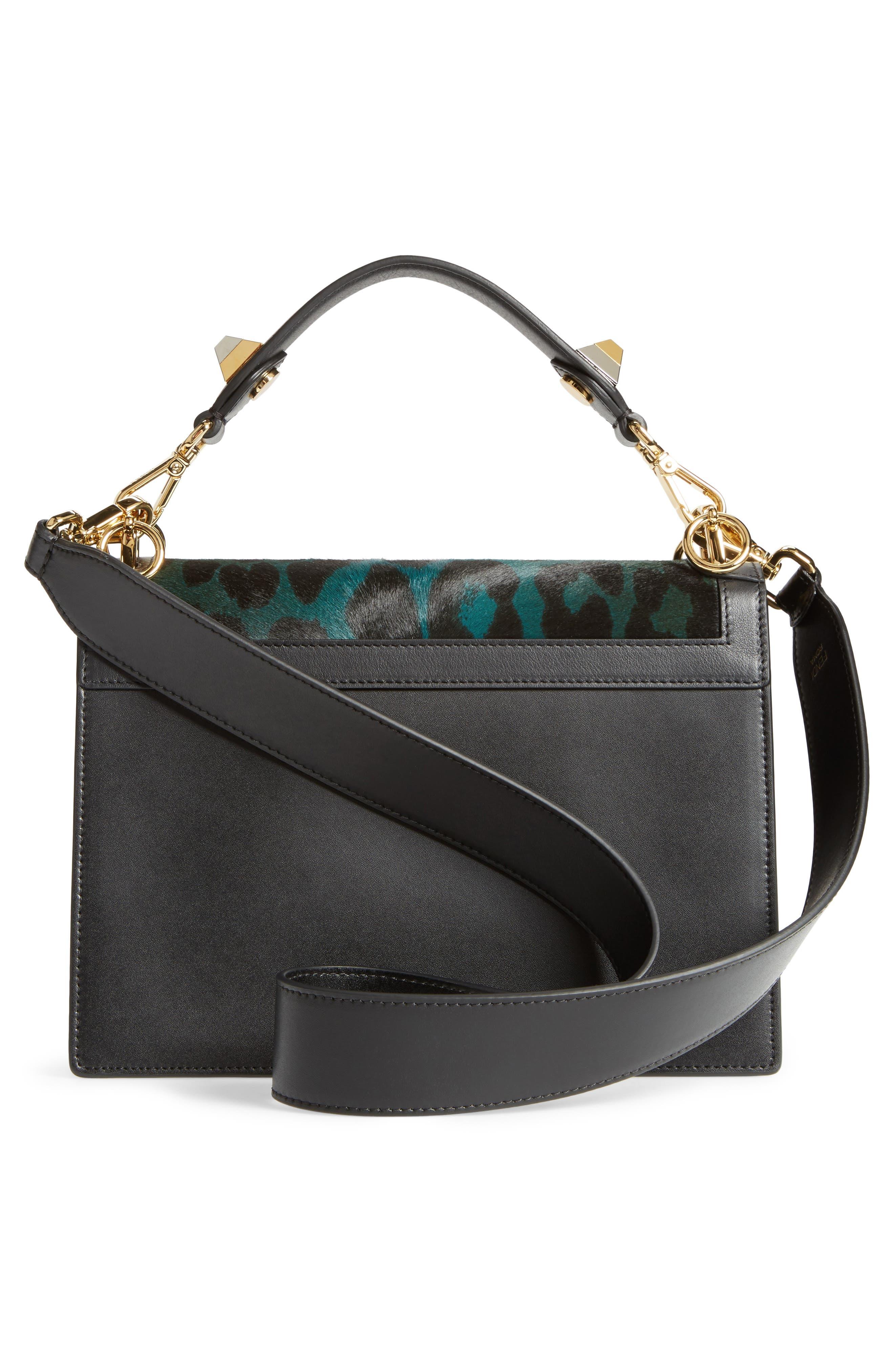Alternate Image 2  - Fendi Kan I Genuine Calf Hair & Leather Shoulder Bag