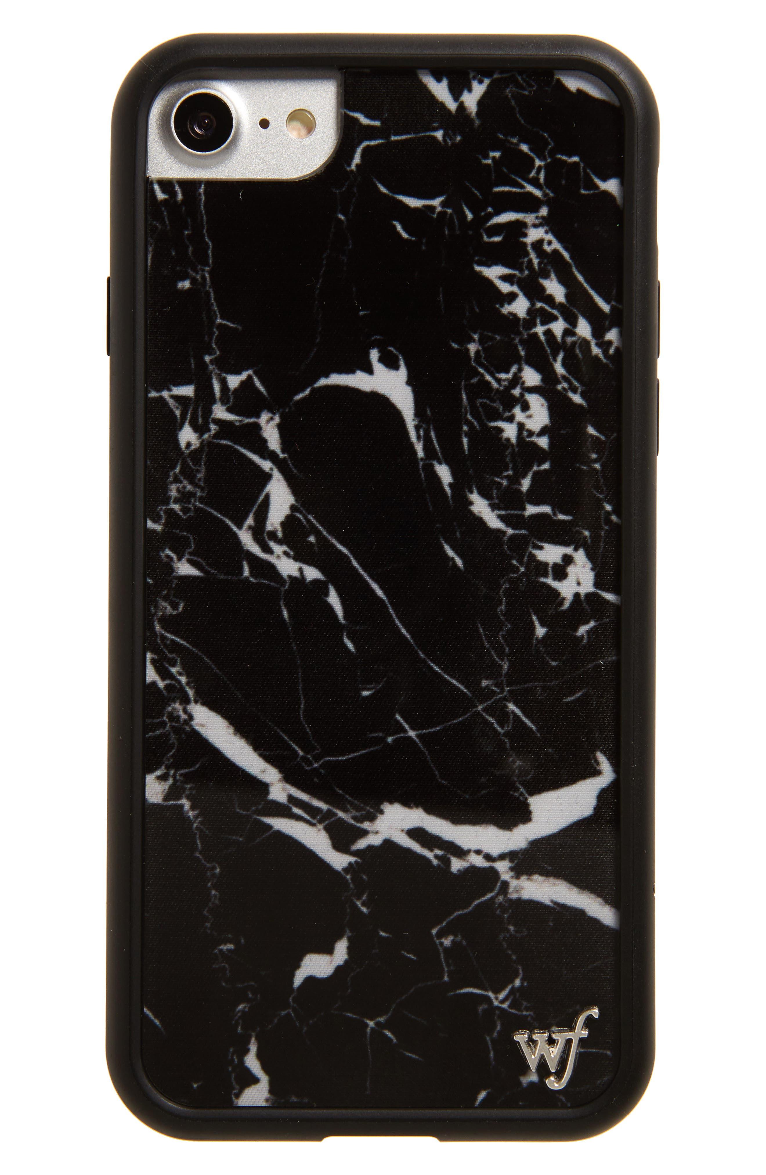 Wildflower Marble iPhone 7 Case