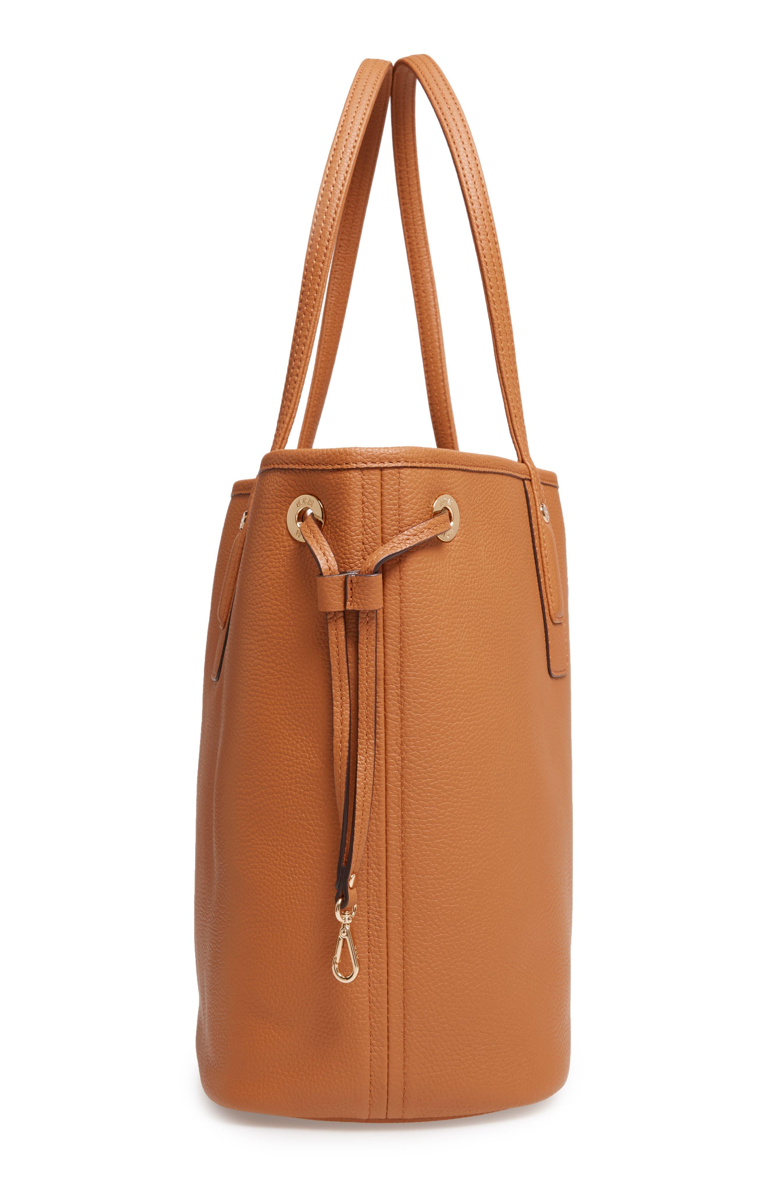 Alternate Image 6  - MCM Medium Liz Reversible Visetos Leather Shopper