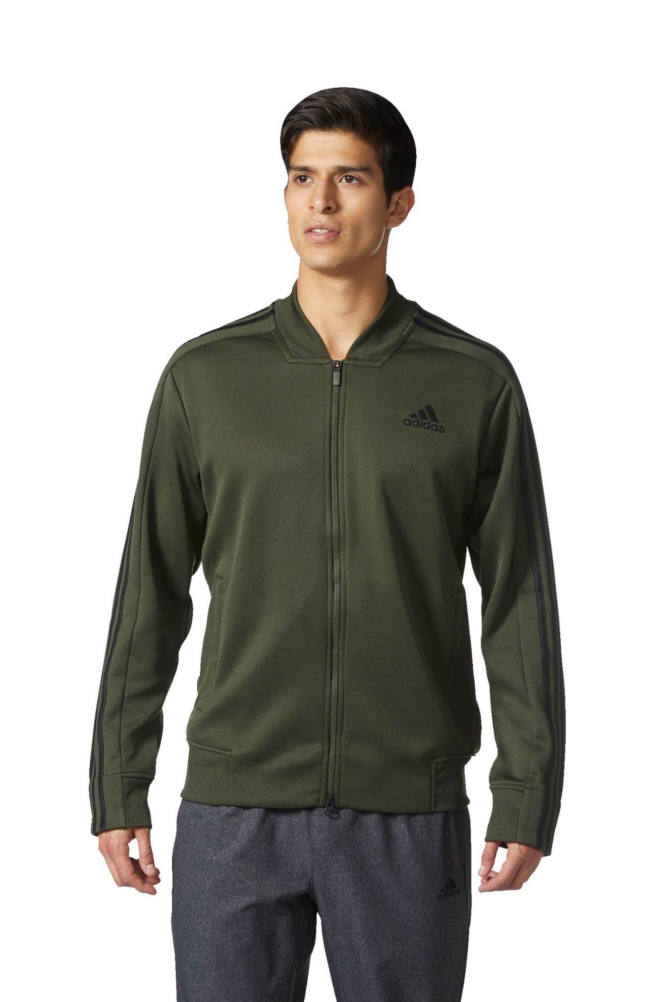 Alternate Image 5  - adidas Sport ID Track Bomber Jacket