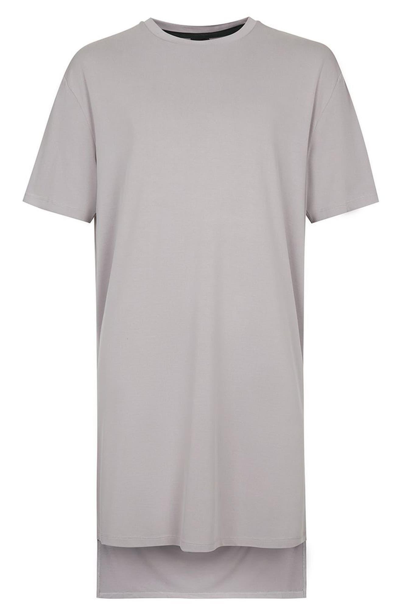 Alternate Image 4  - Topman AAA Collection Longline T-Shirt