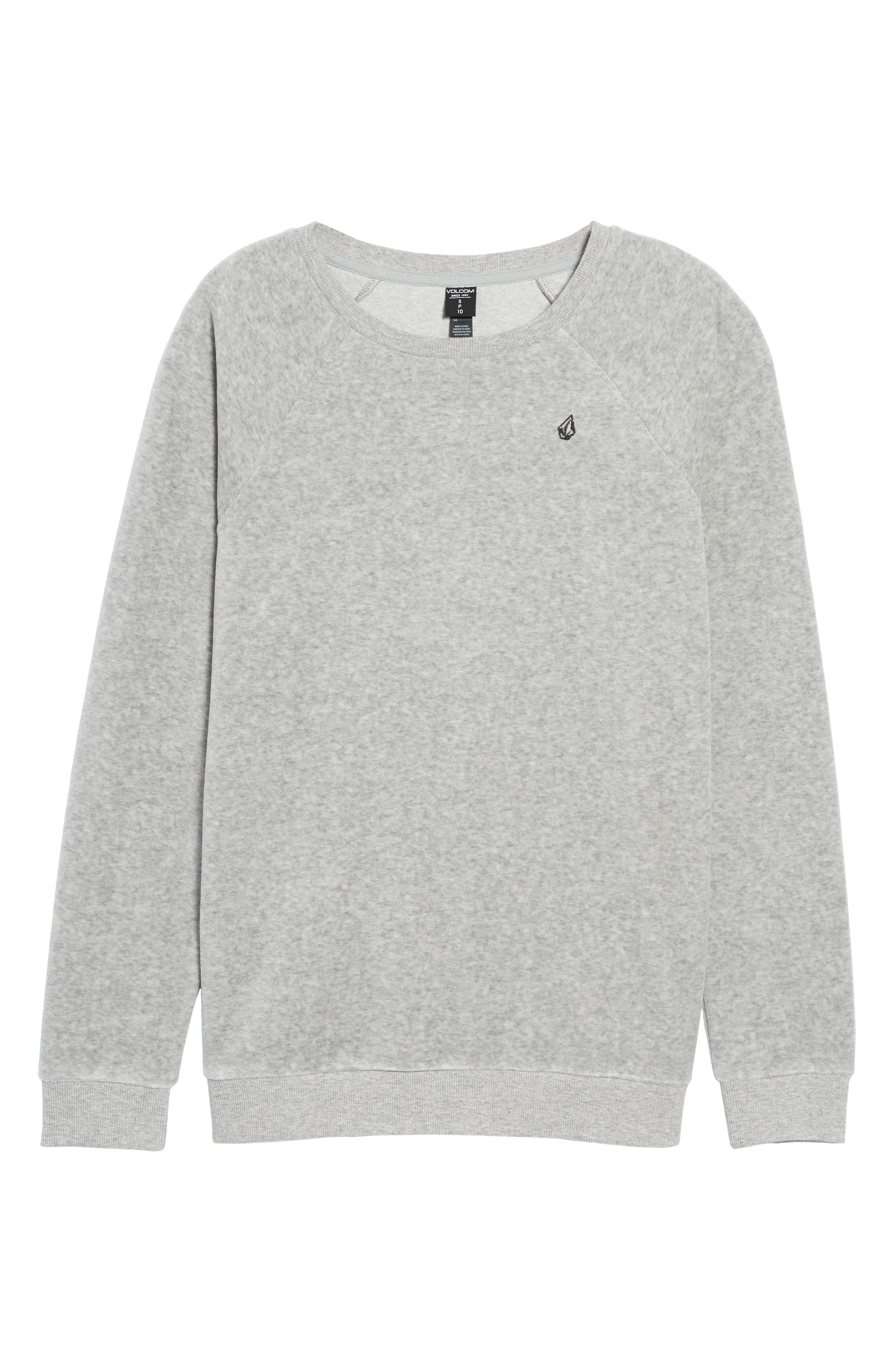 Alternate Image 5  - Volcom Gotta Crush Raglan Sweatshirt