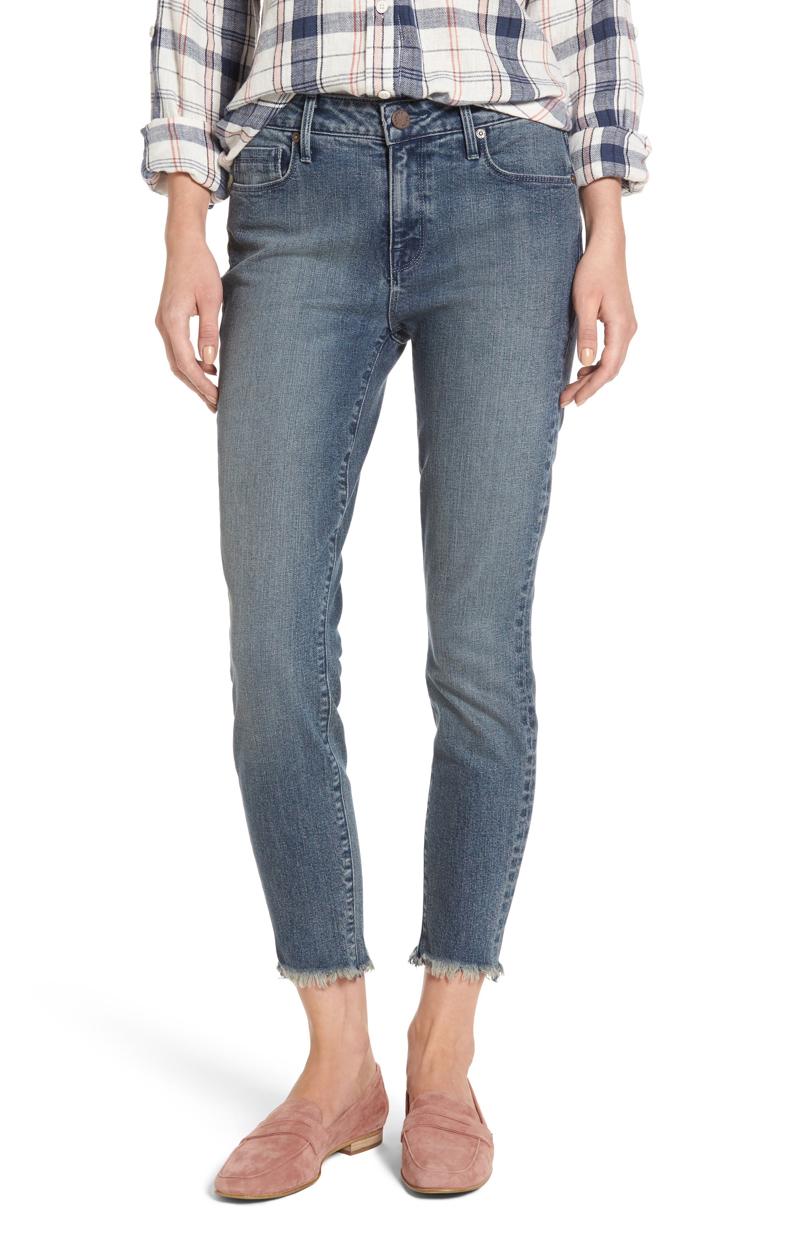 PARKER SMITH Ava Crop Skinny Jeans