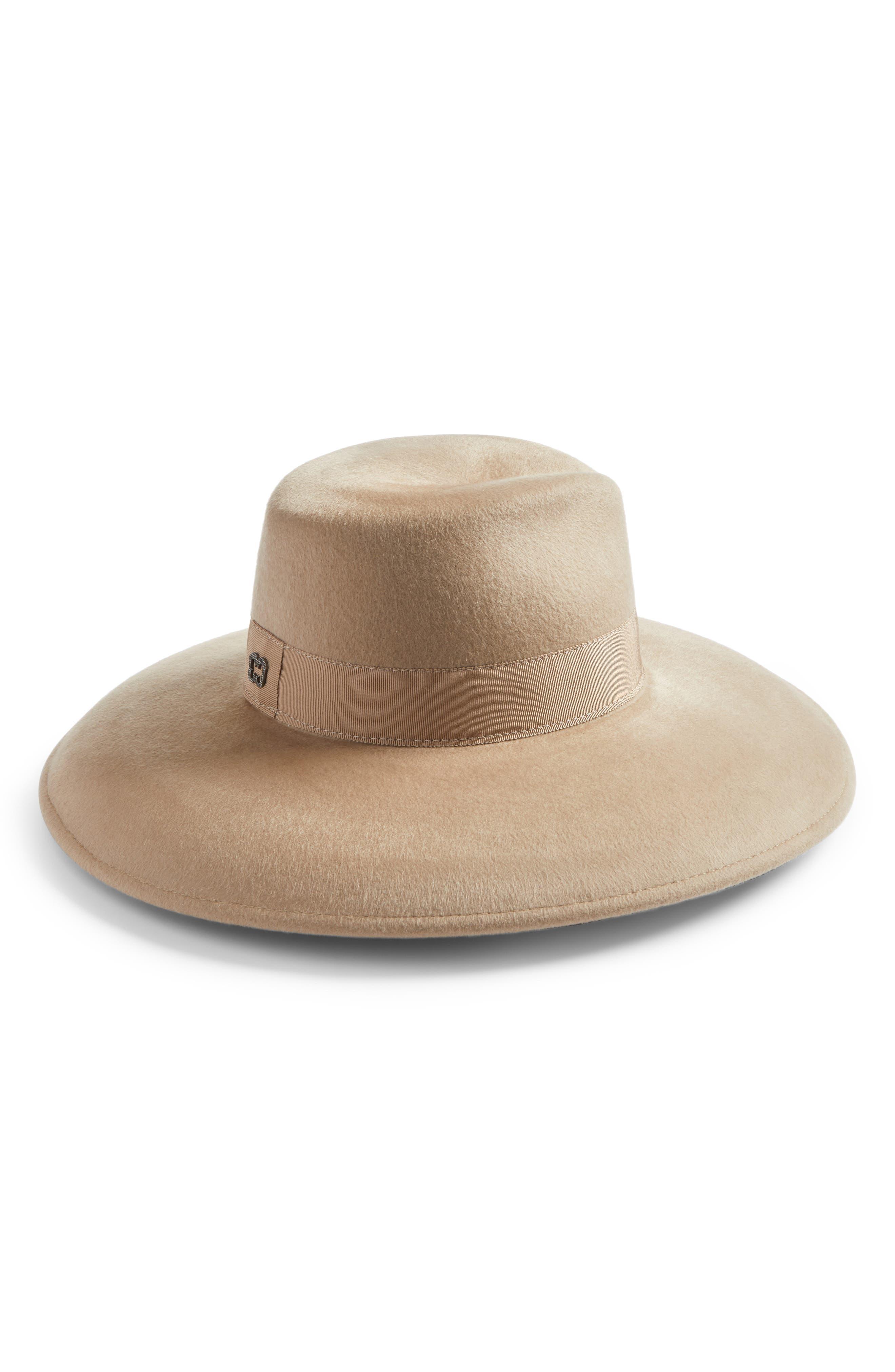 Main Image - Eric Javits Camille Wool Floppy Hat