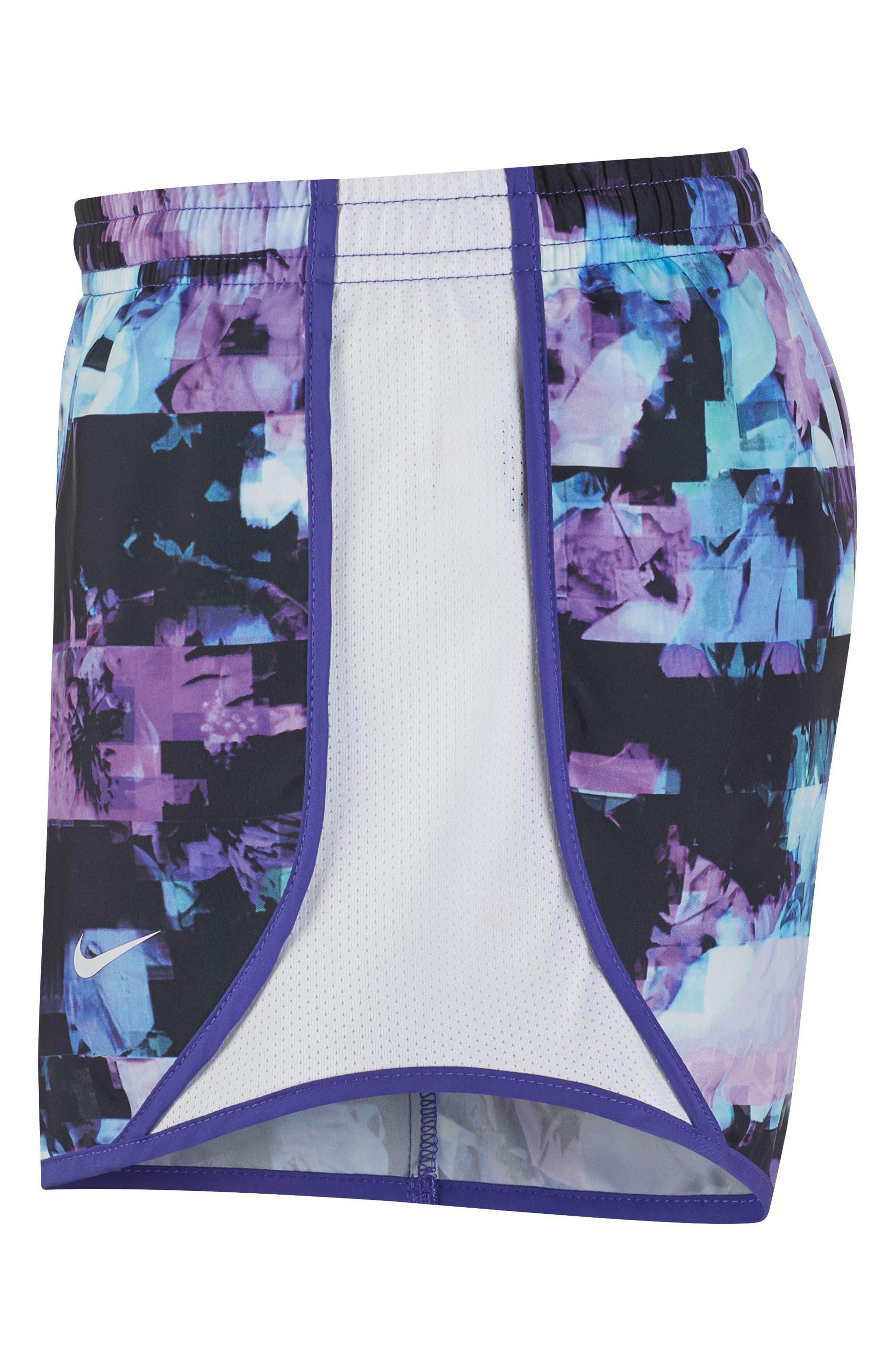 Tempo Dri-FIT Running Shorts,                             Alternate thumbnail 3, color,                             Persian Violet/ White
