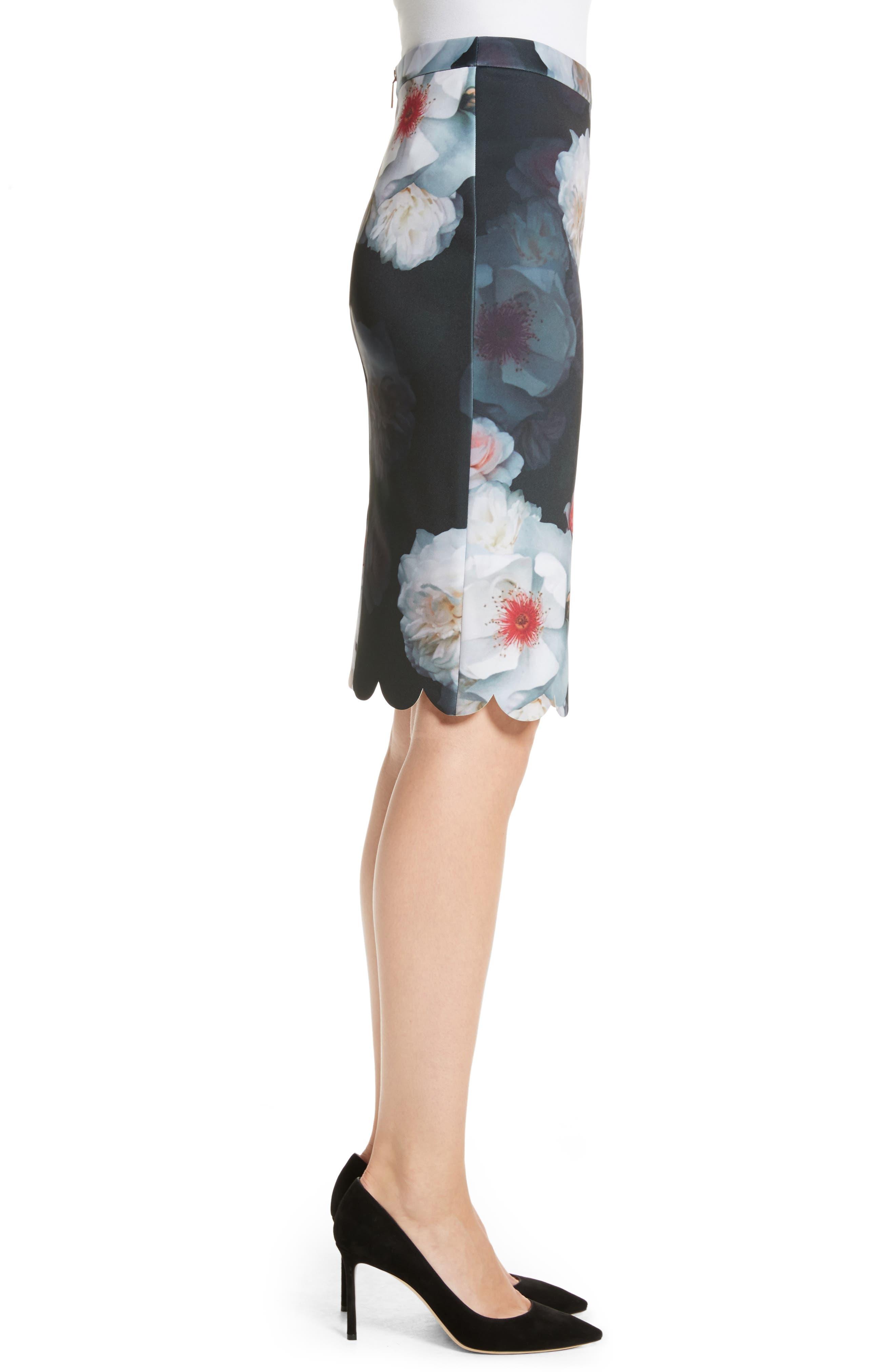 Alternate Image 3  - Ted Baker London Laylie Chelsea Print Pencil Skirt