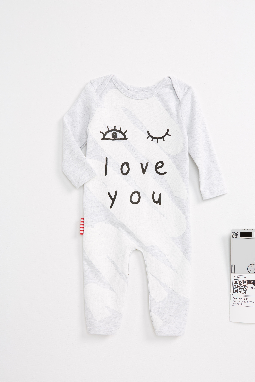 SOOKIbaby Eye Love You Romper (Baby)
