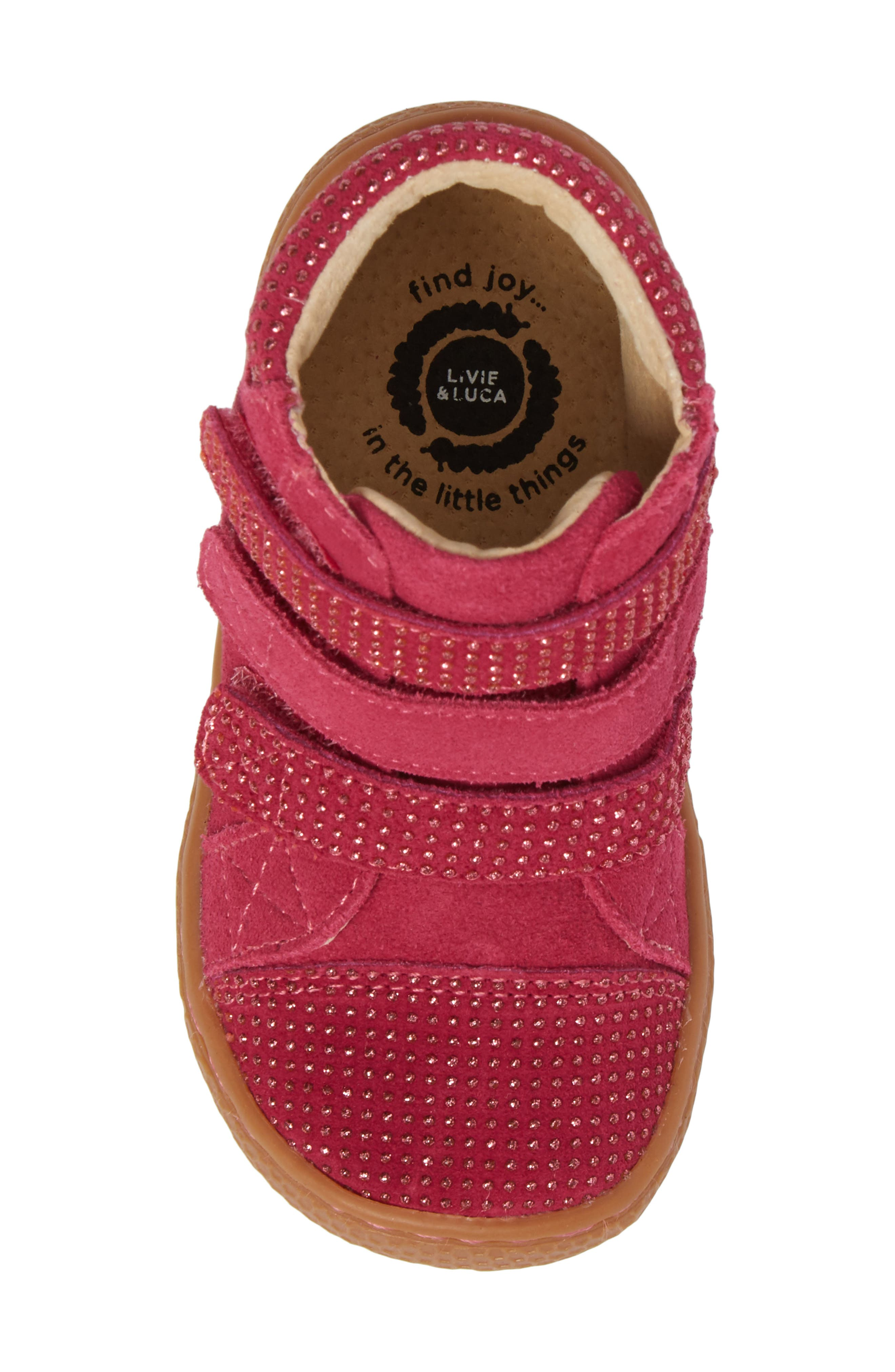 Alternate Image 5  - Livie & Luca 'Jamie' High Top Sneaker (Baby, Walker, Toddler & Little Kid)