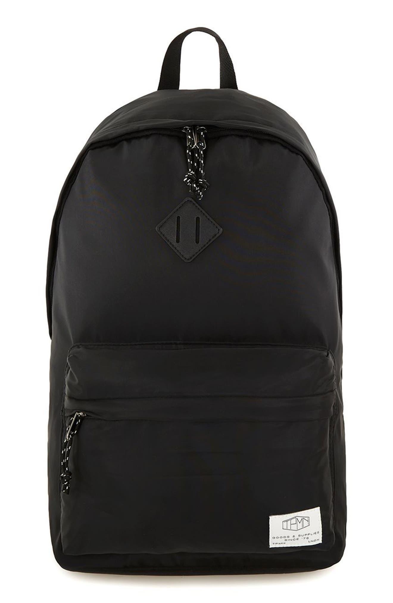 Ripstop Backpack,                             Main thumbnail 1, color,                             Black