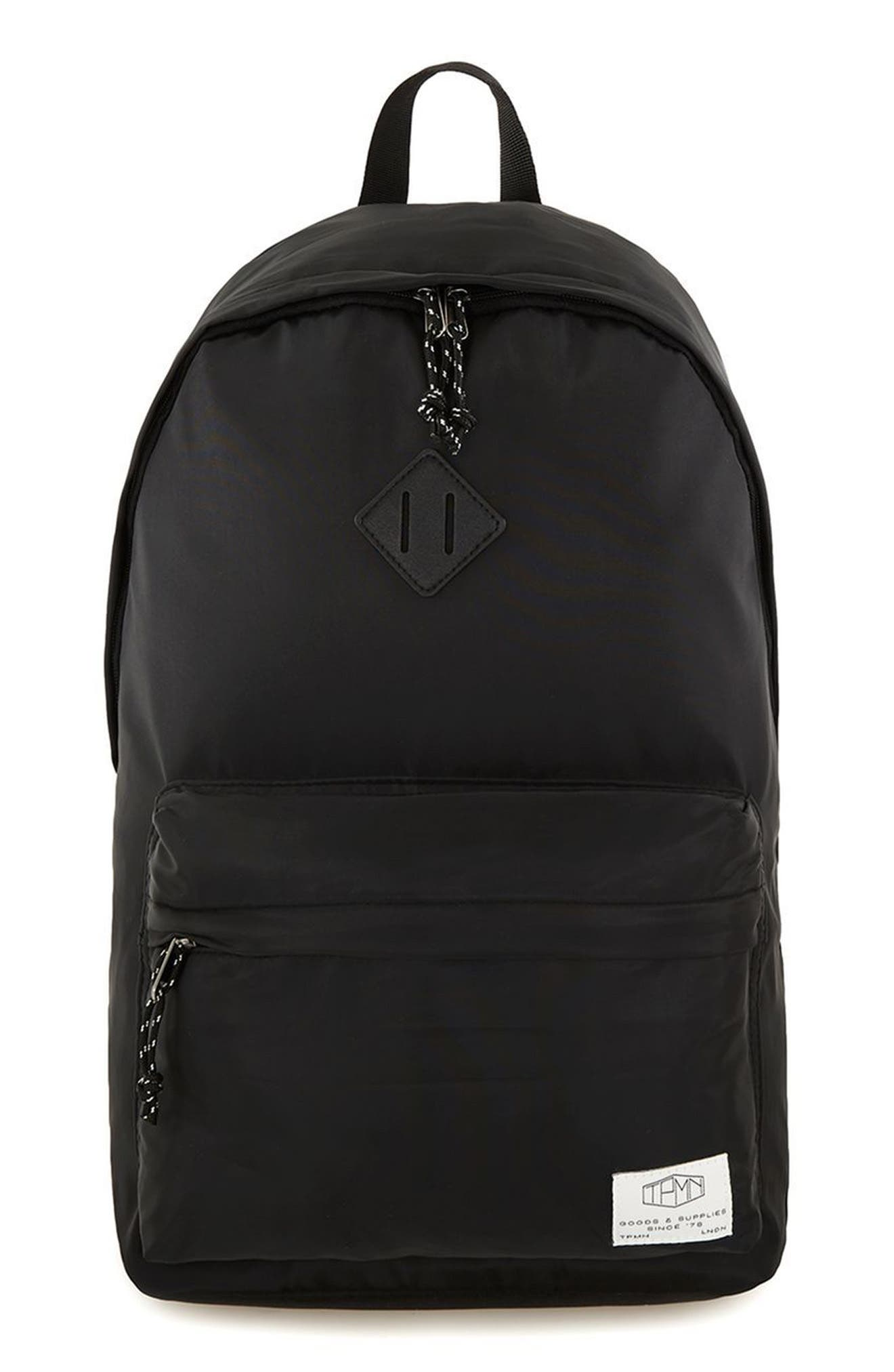 Ripstop Backpack,                         Main,                         color, Black