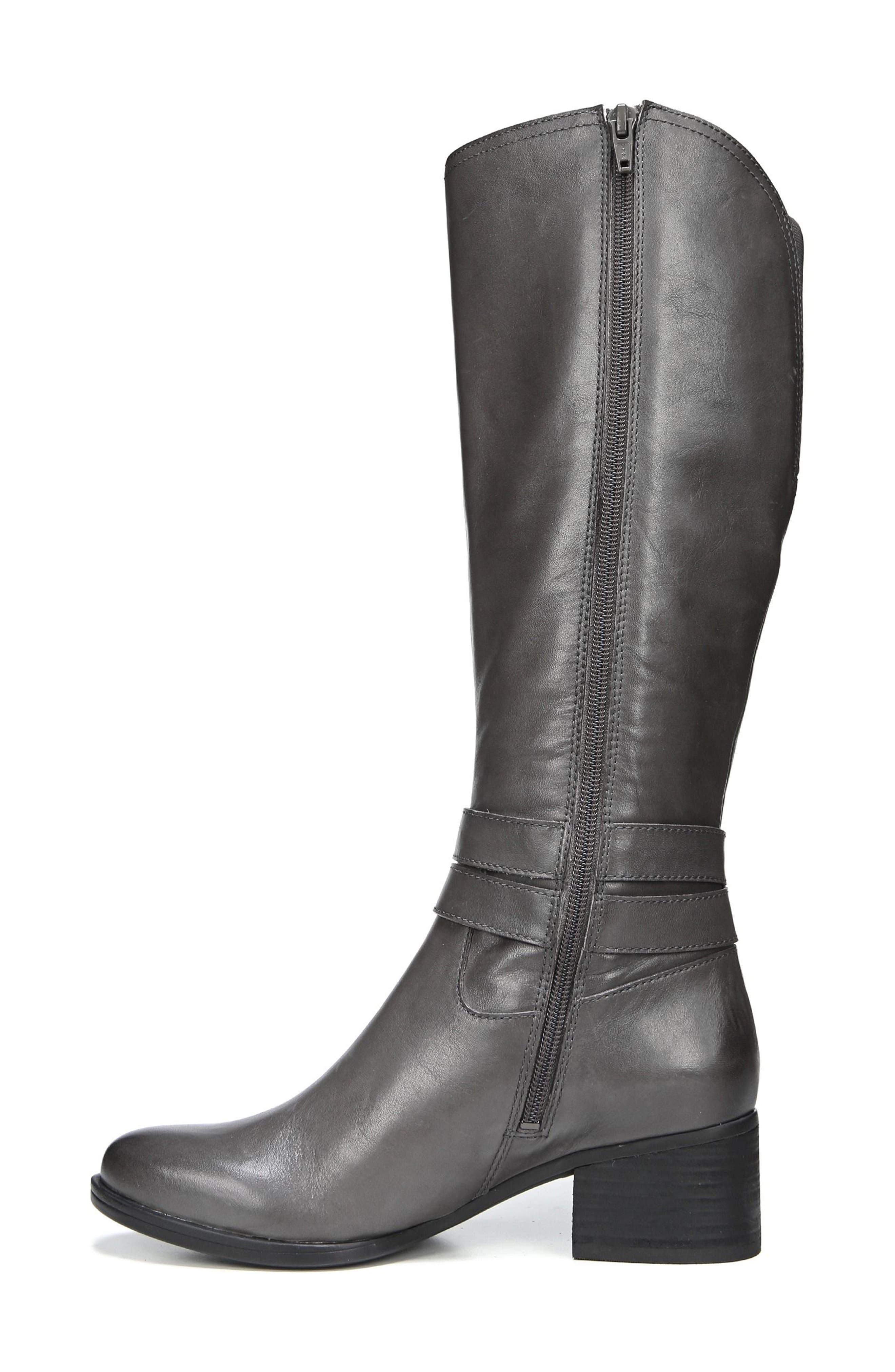 Alternate Image 2  - Naturalizer Dev Buckle Strap Boot (Women) (Regular & Wide Calf)