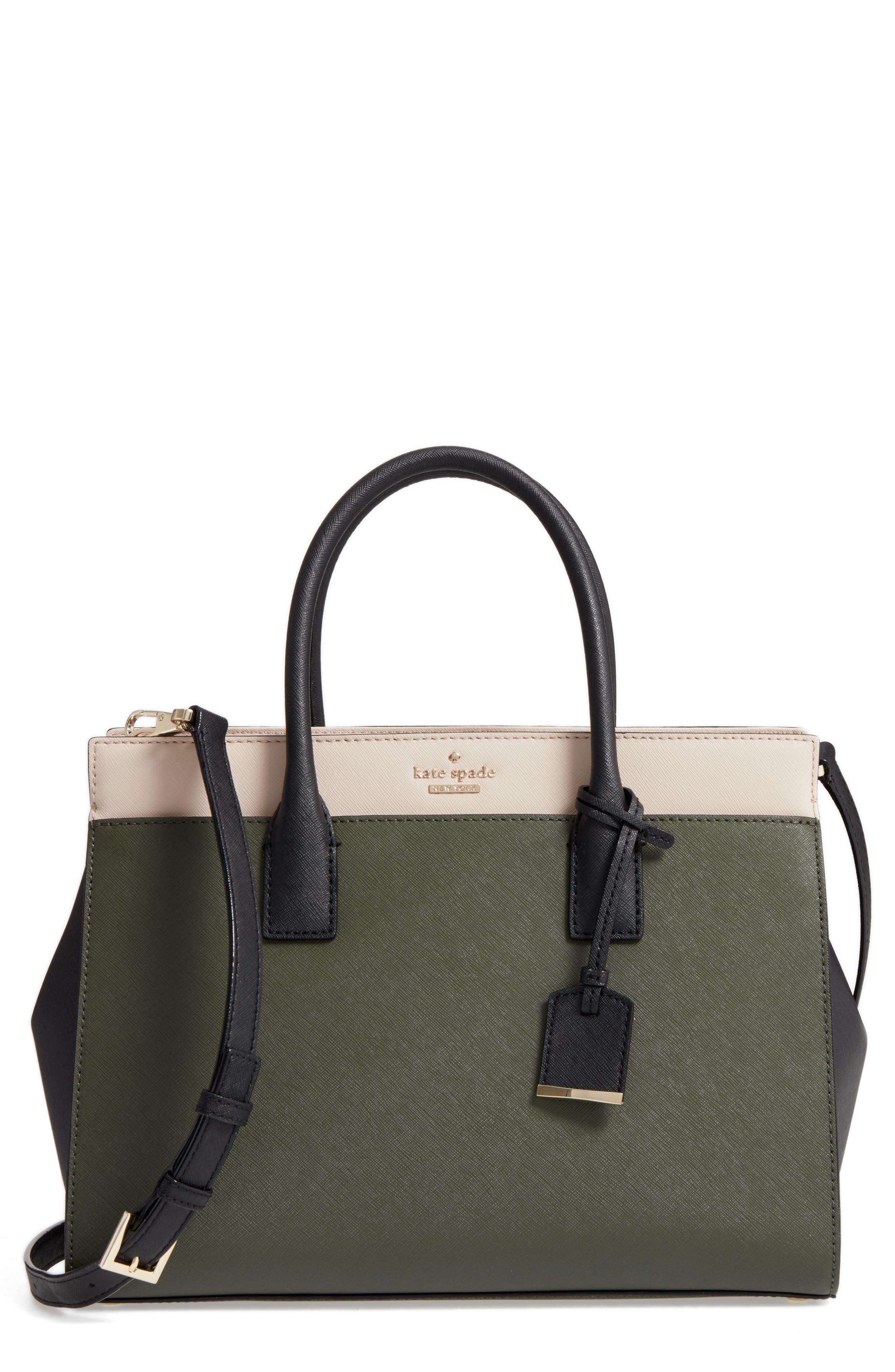 Main Image - kate spade new york cameron street - candace leather satchel