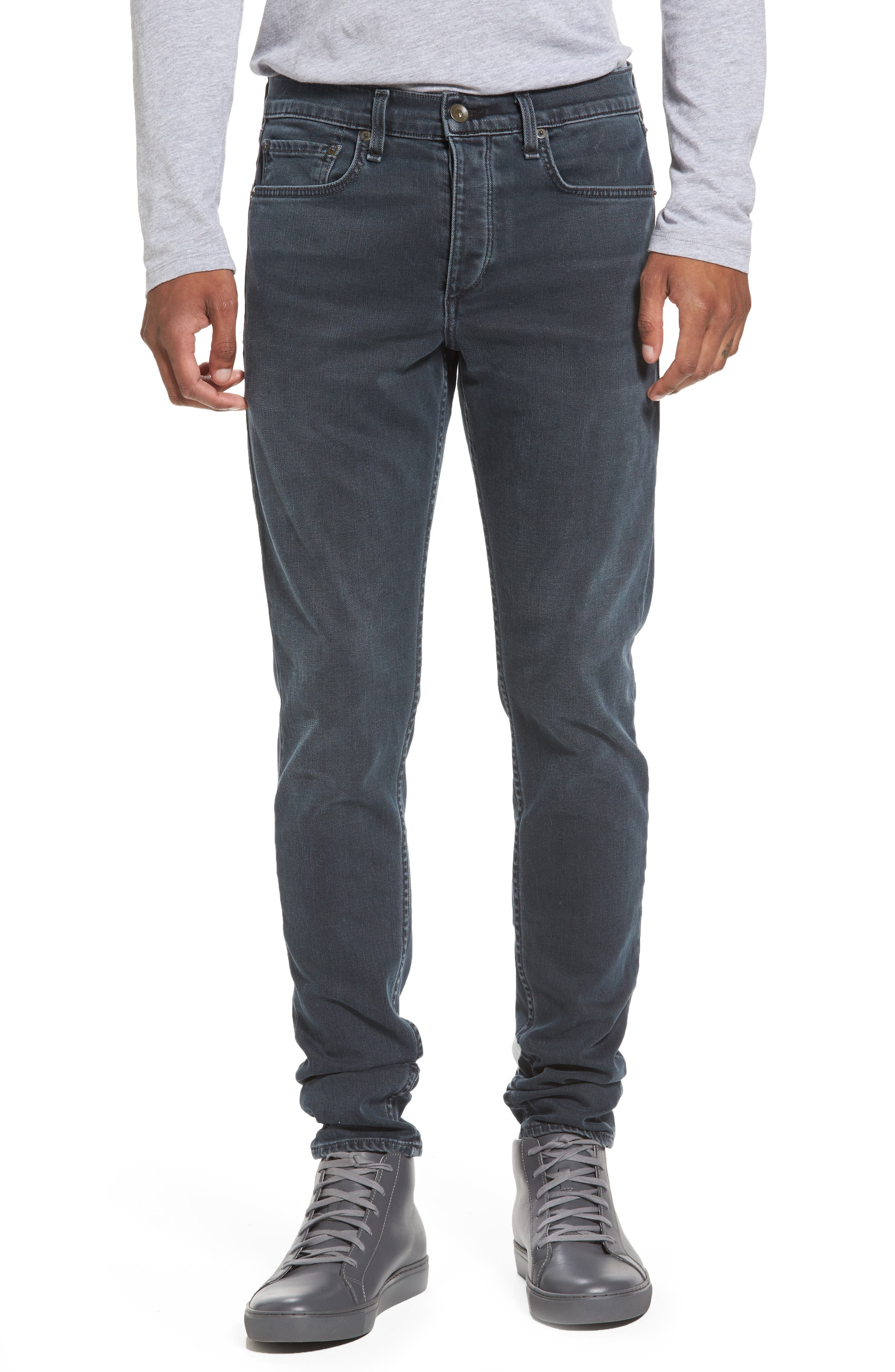 Fit 1 Skinny Fit Jeans,                             Main thumbnail 1, color,                             Minna