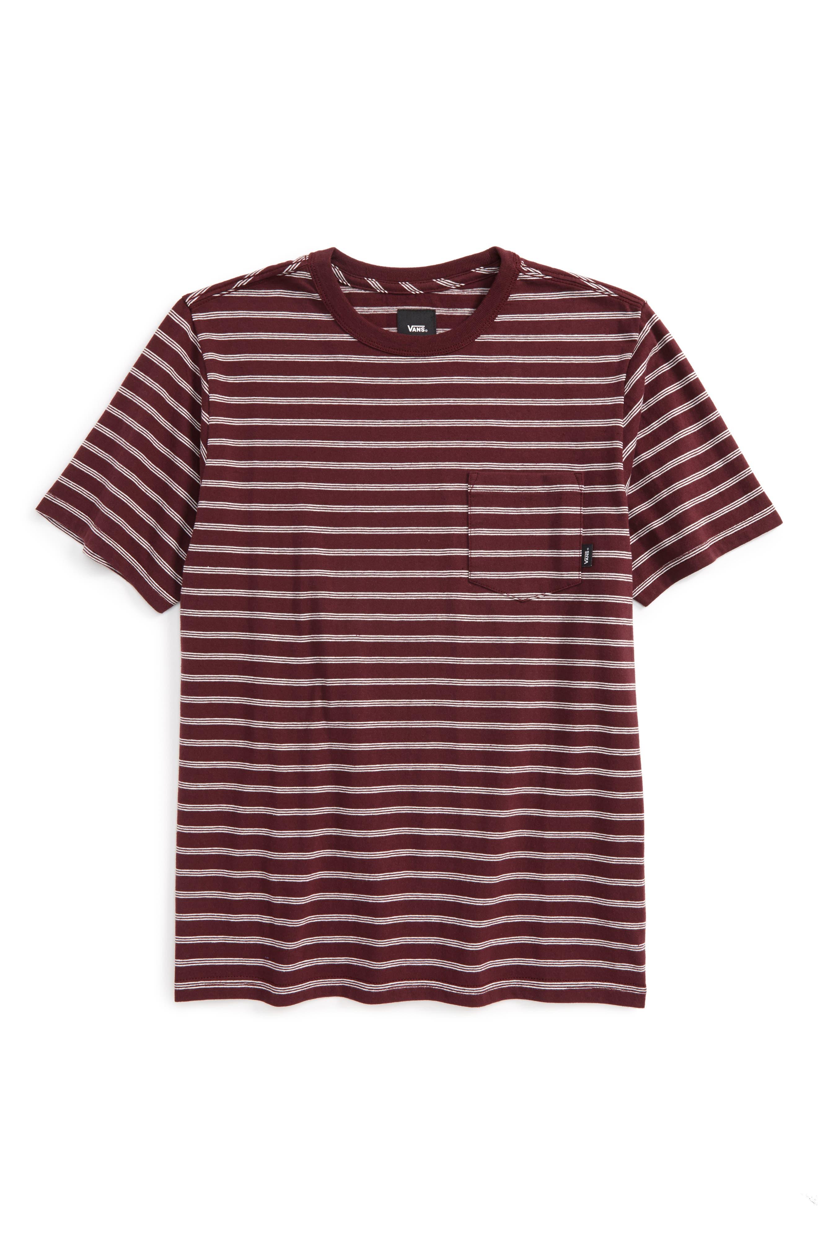 Lined Up Knit T-Shirt,                         Main,                         color, Port Royale