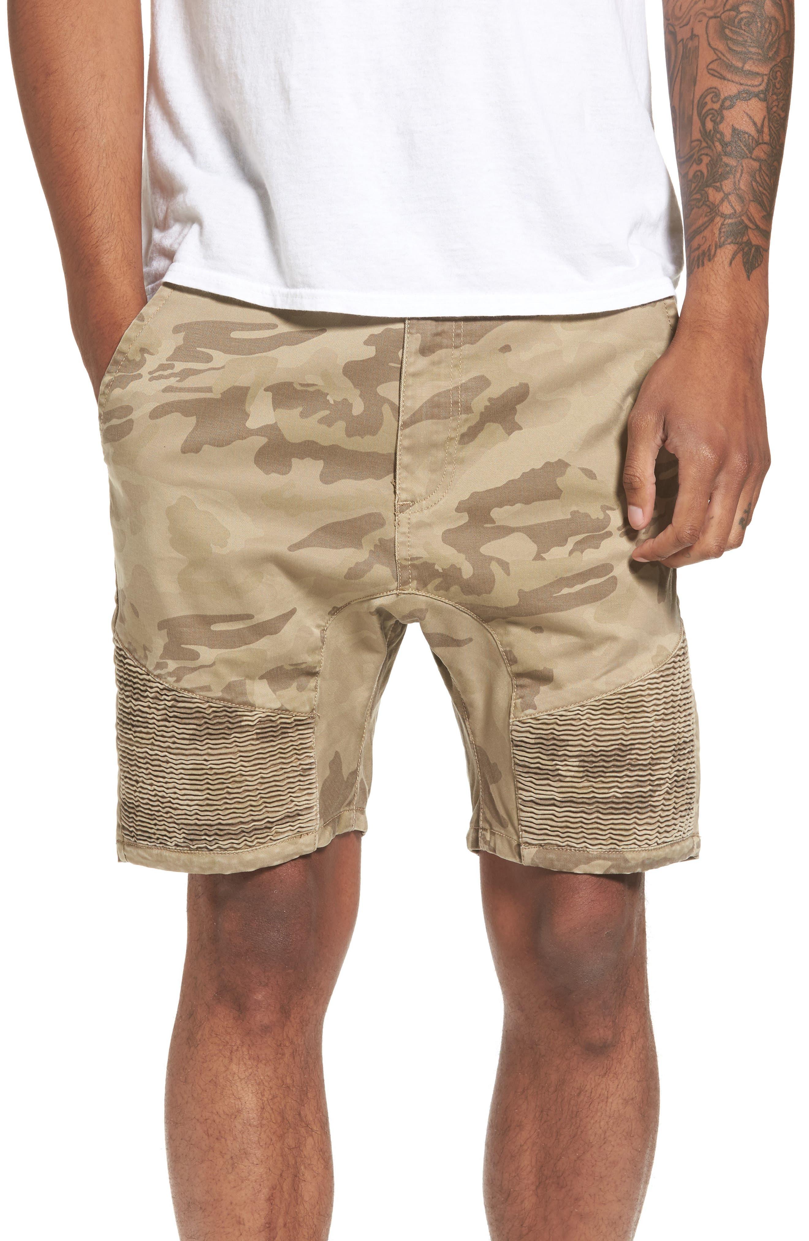 Scope Shorts,                         Main,                         color, Sandstorm Camo