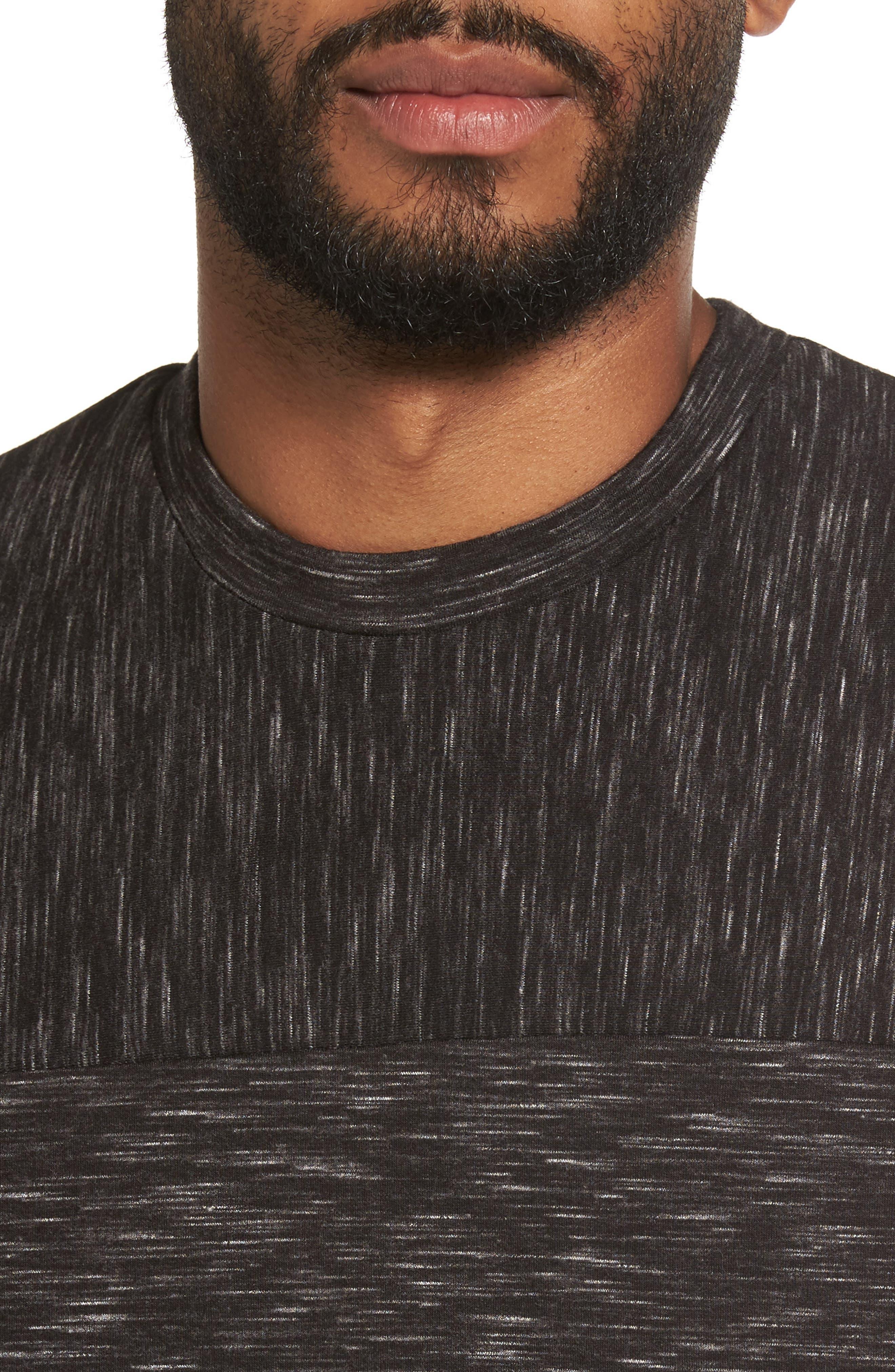 Alternate Image 4  - Calibrate Side Zip Crewneck Sweatshirt