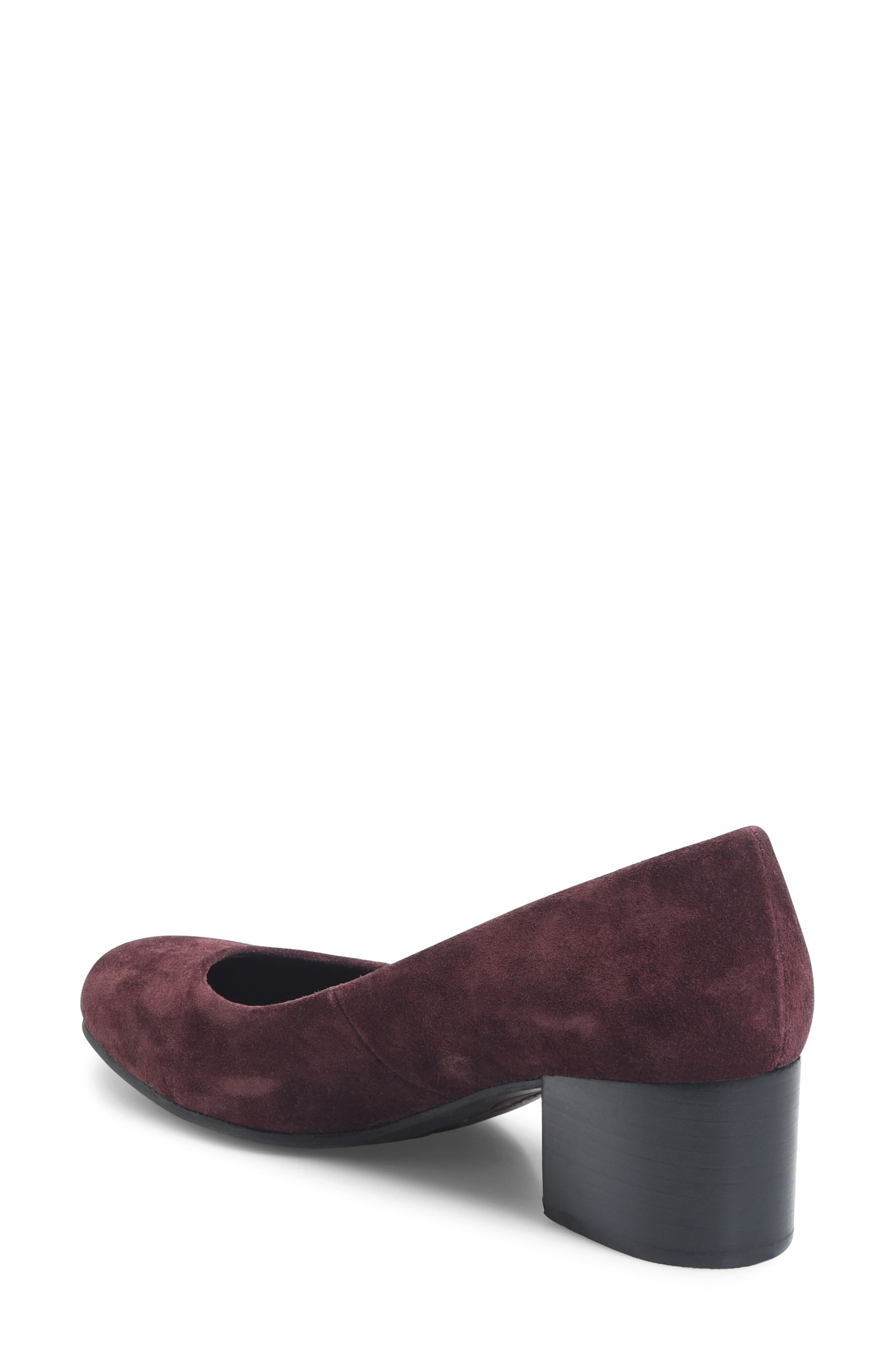 Amery Pump,                             Alternate thumbnail 2, color,                             Burgundy Suede