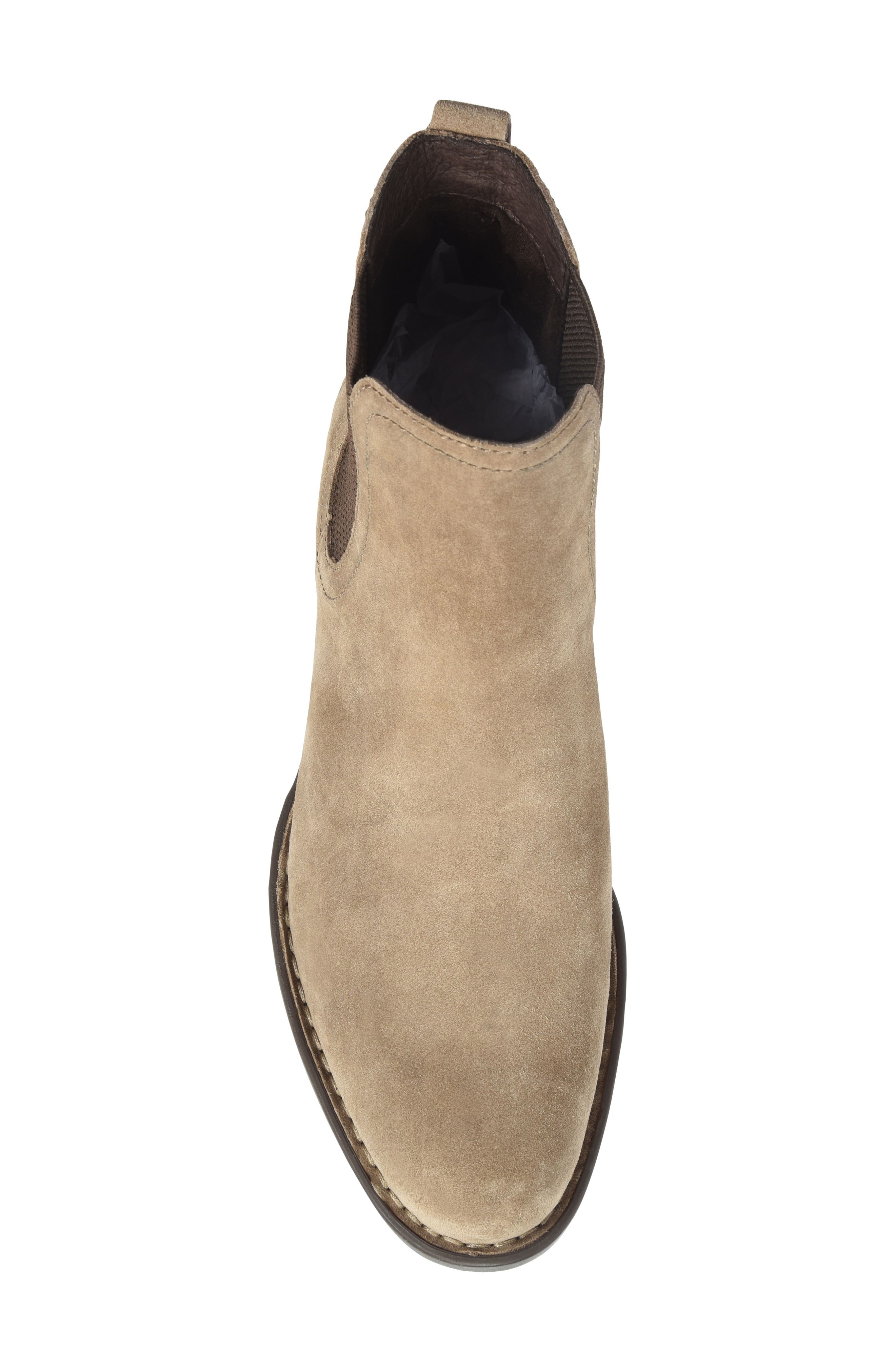Casco Chelsea Boot,                             Alternate thumbnail 5, color,                             Taupe Suede
