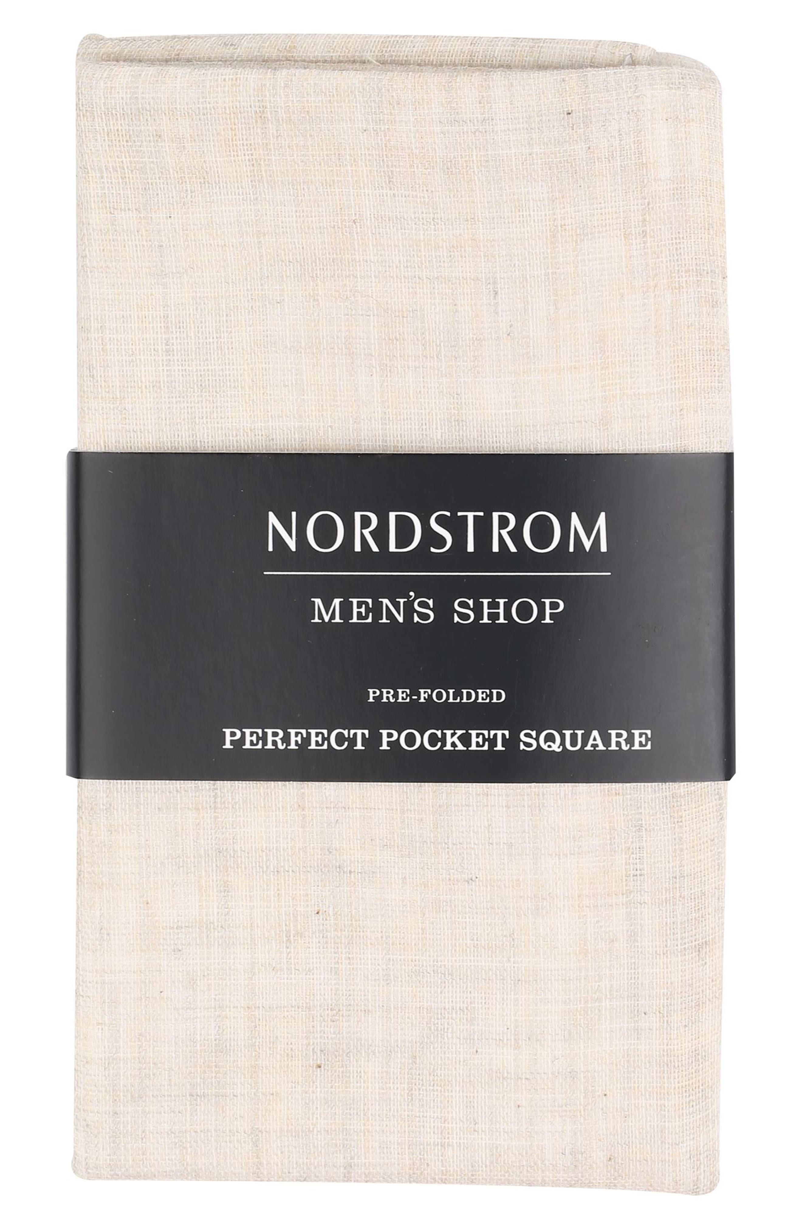 Nordstrom Men's Shop The Perfect Pocket Square (3 for $49)