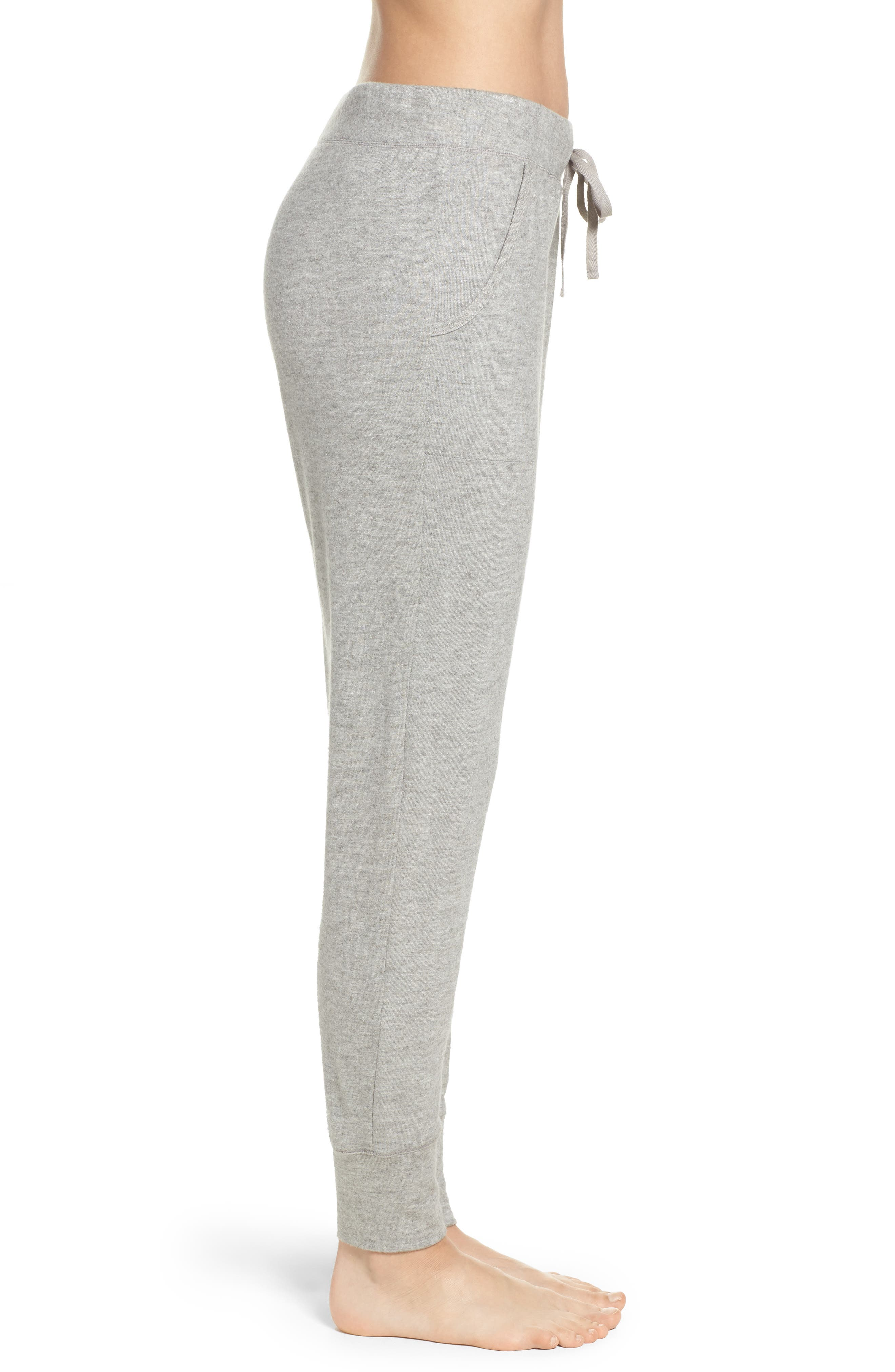 Alternate Image 3  - Natori Retreat Sweater Knit Pants