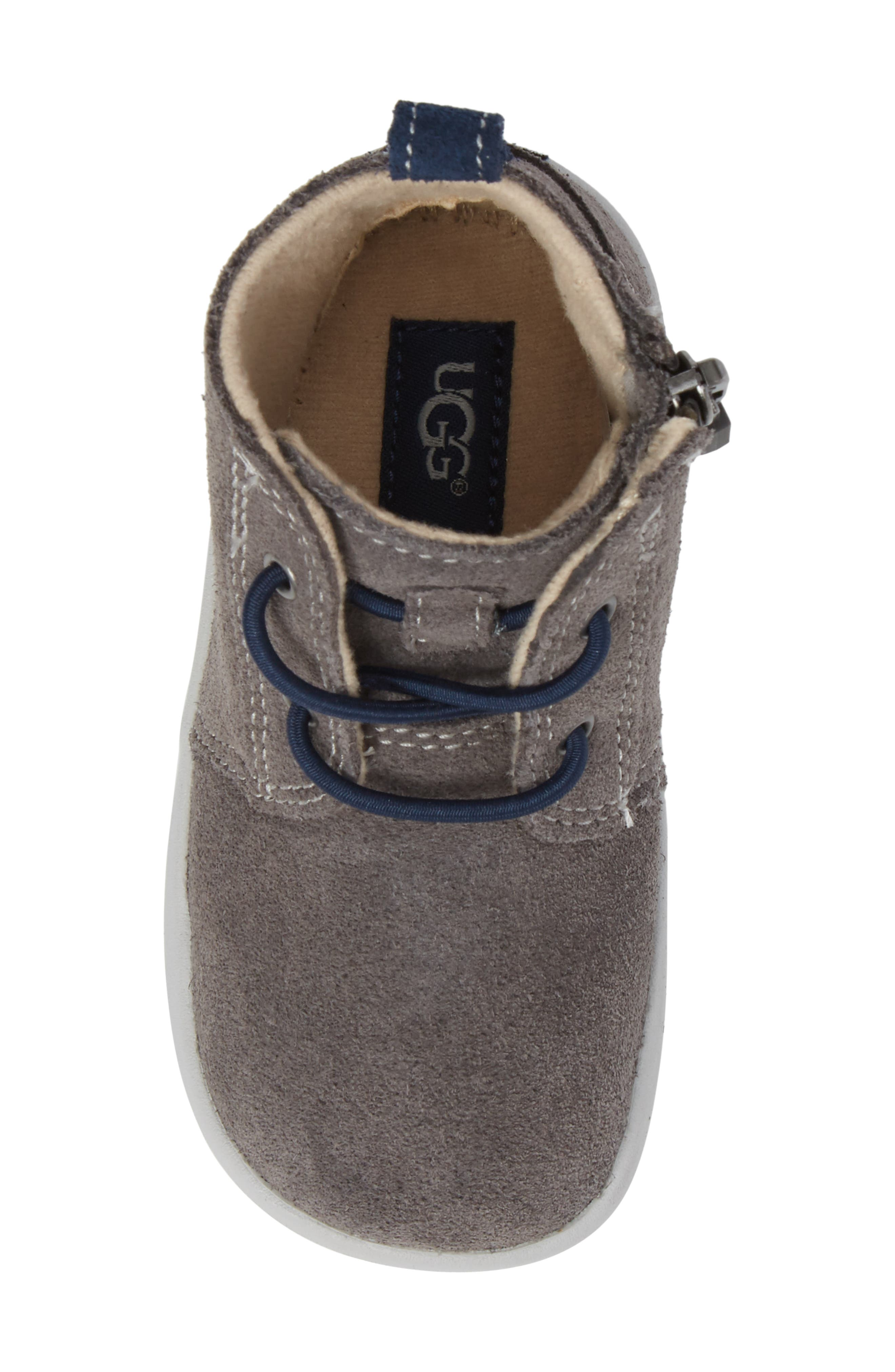 Kristjan Chukka Bootie Sneaker,                             Alternate thumbnail 5, color,                             Charcoal