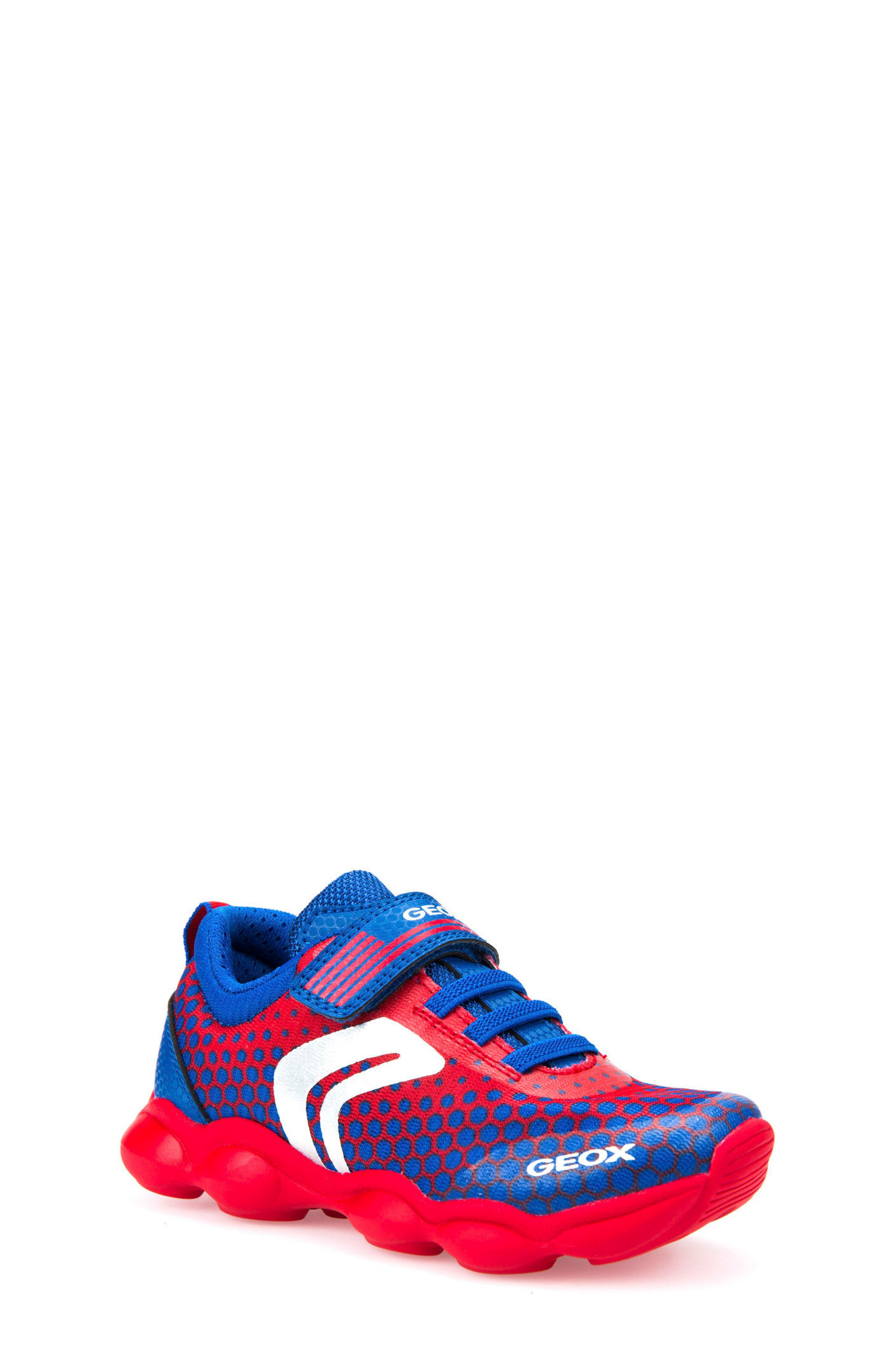 Alternate Image 1 Selected - Geox Munfrey Sneaker (Toddler, Little Kid, Big Kid)