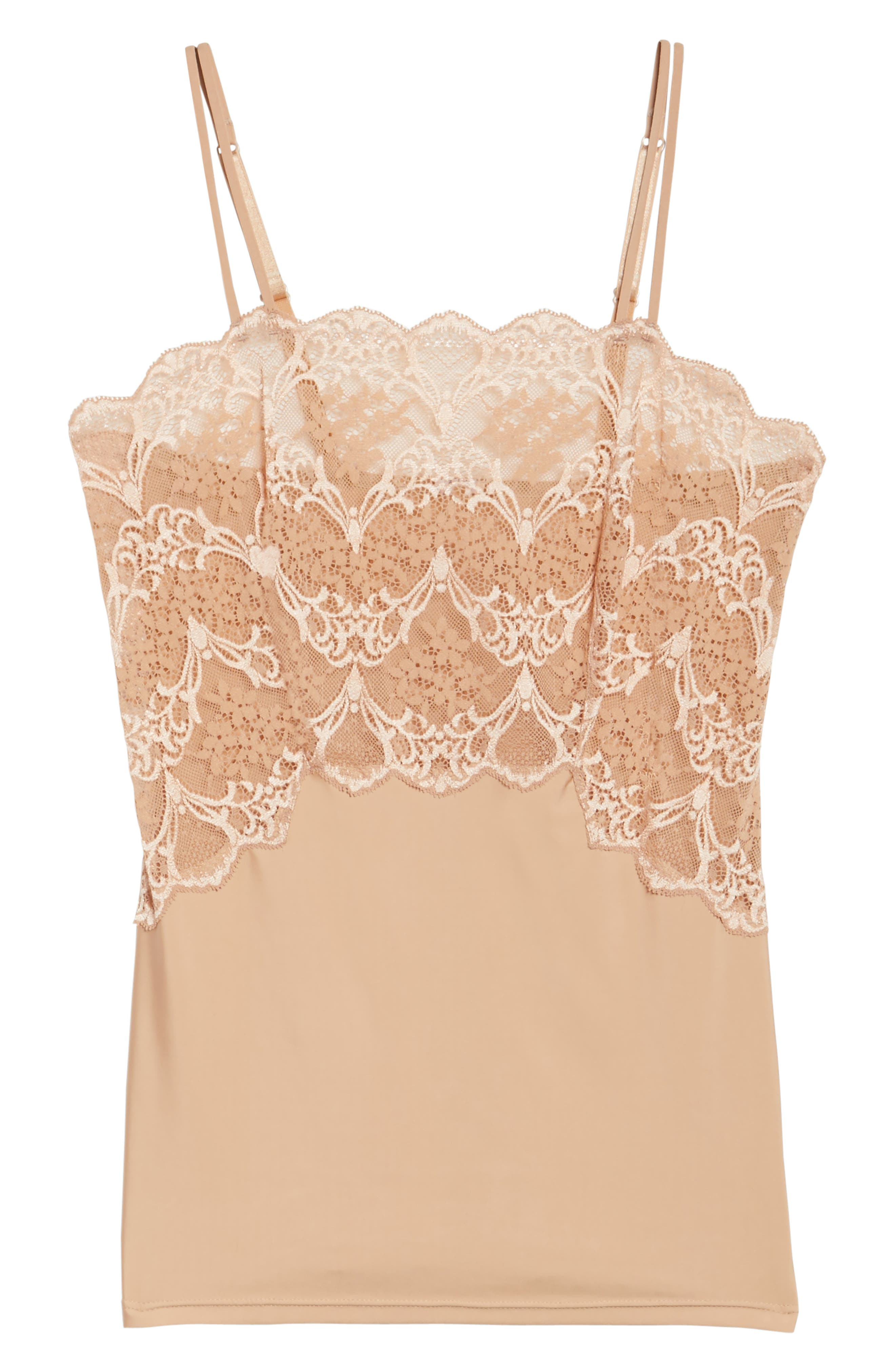 Alternate Image 4  - Wacoal Lace Impression Camisole