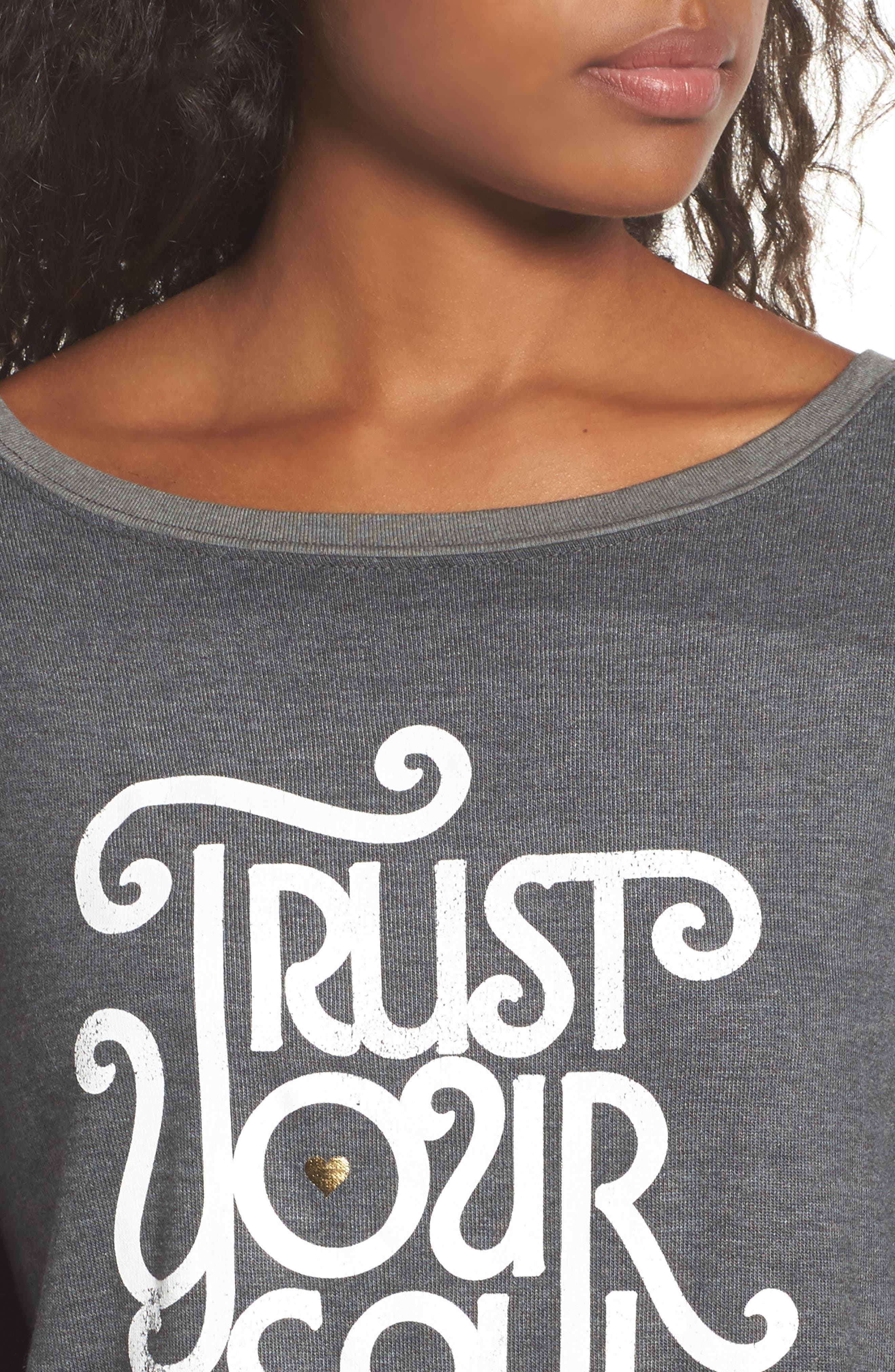 Trust Your Soul Tee,                             Alternate thumbnail 4, color,                             Army