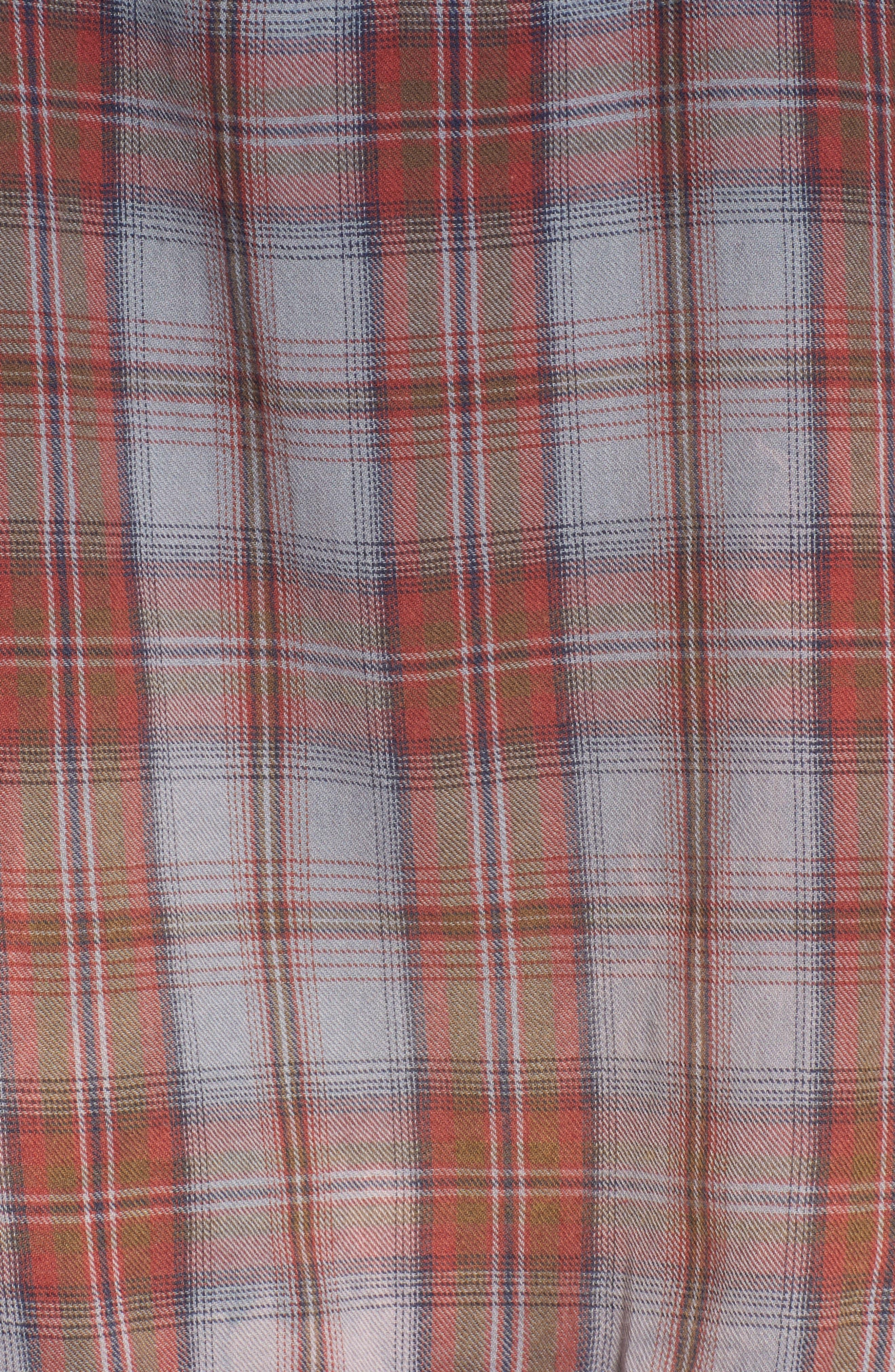Alternate Image 5  - Sundry Plaid Pocket Shirt