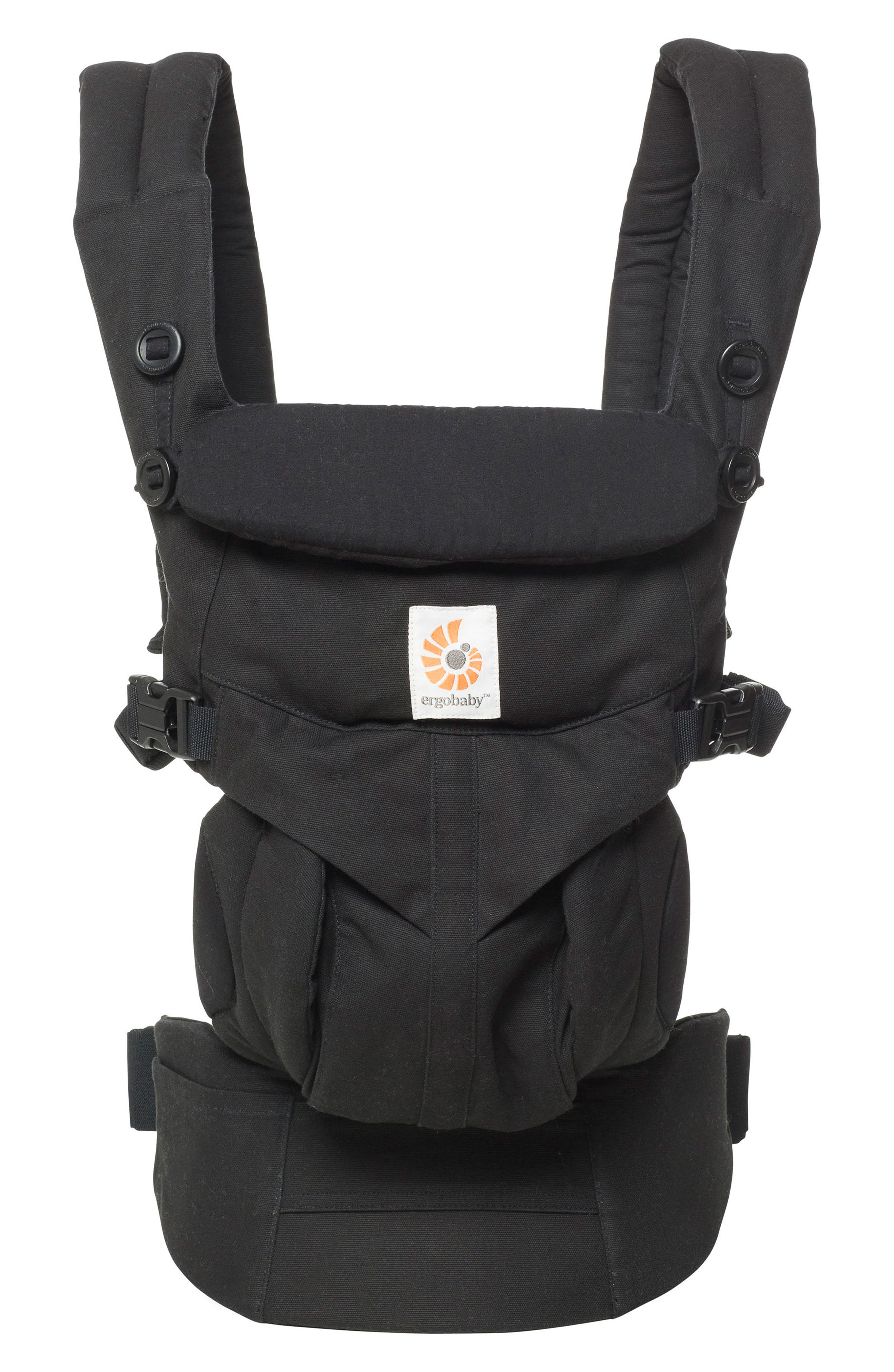 Omni 360 Baby Carrier,                         Main,                         color, Pure Black
