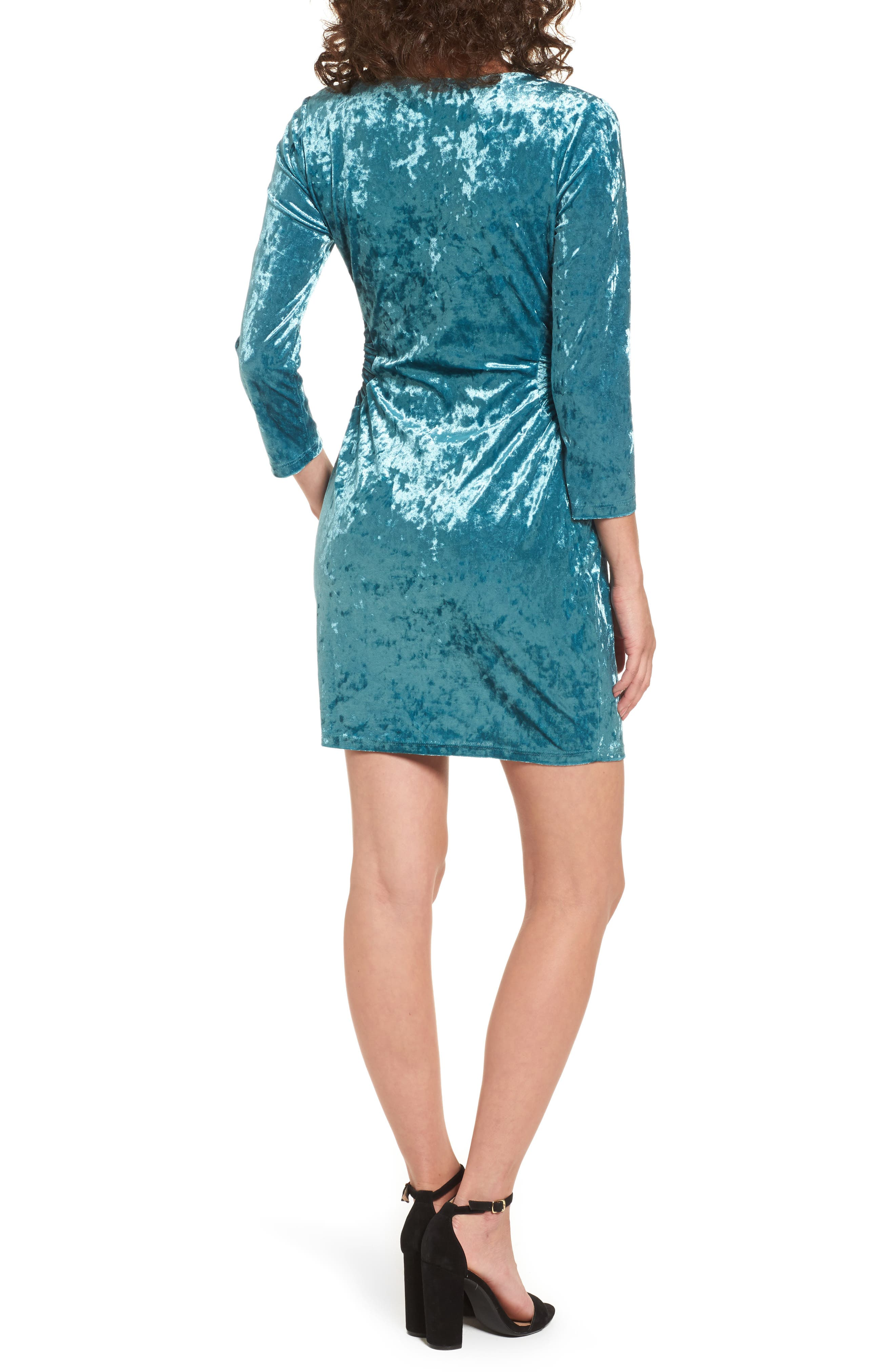 Alternate Image 2  - Everly Cutout Velvet Dress