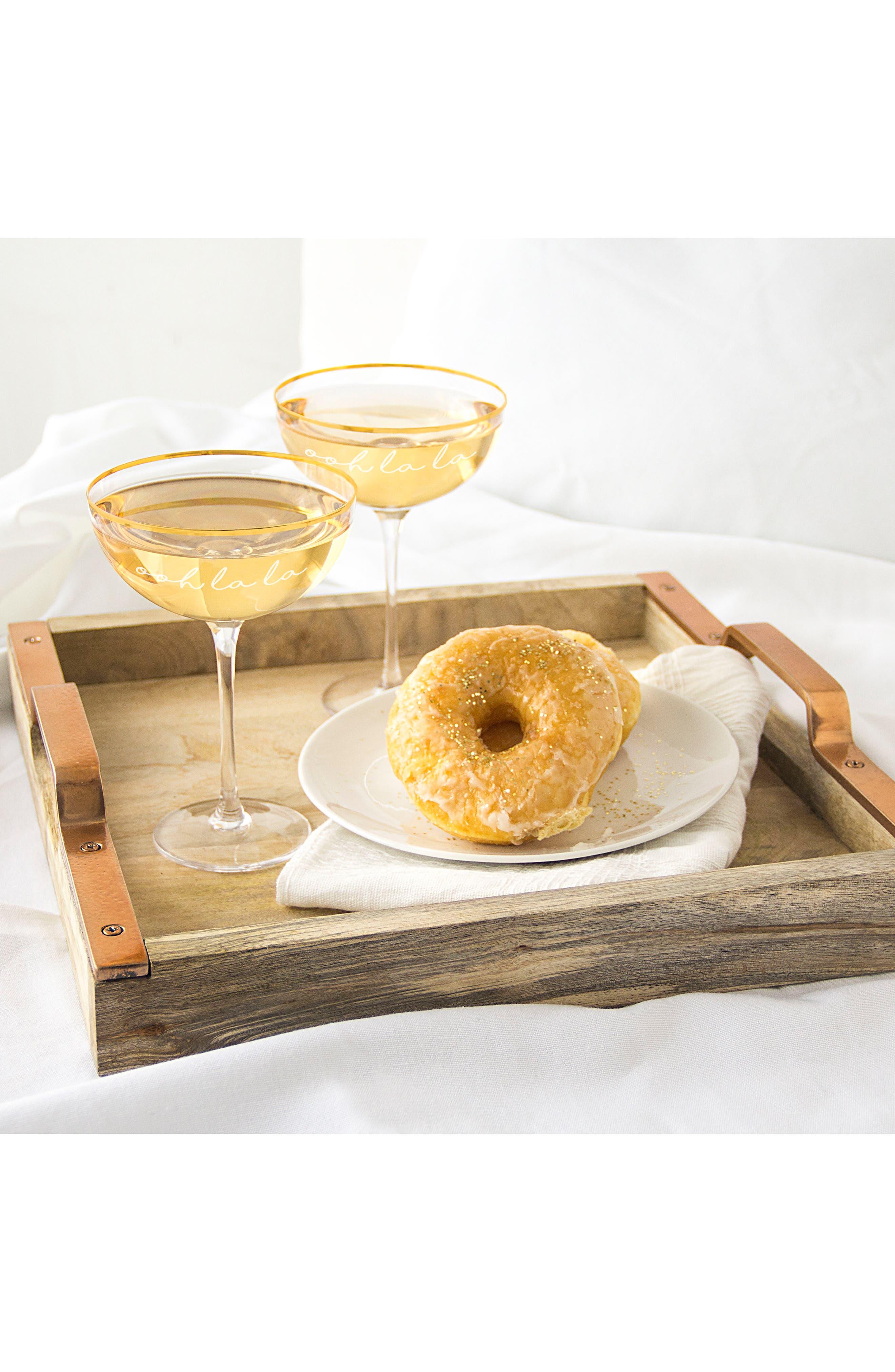Alternate Image 4  - Cathy's Concepts Ooh La La Set of 2 Champagne Coupes