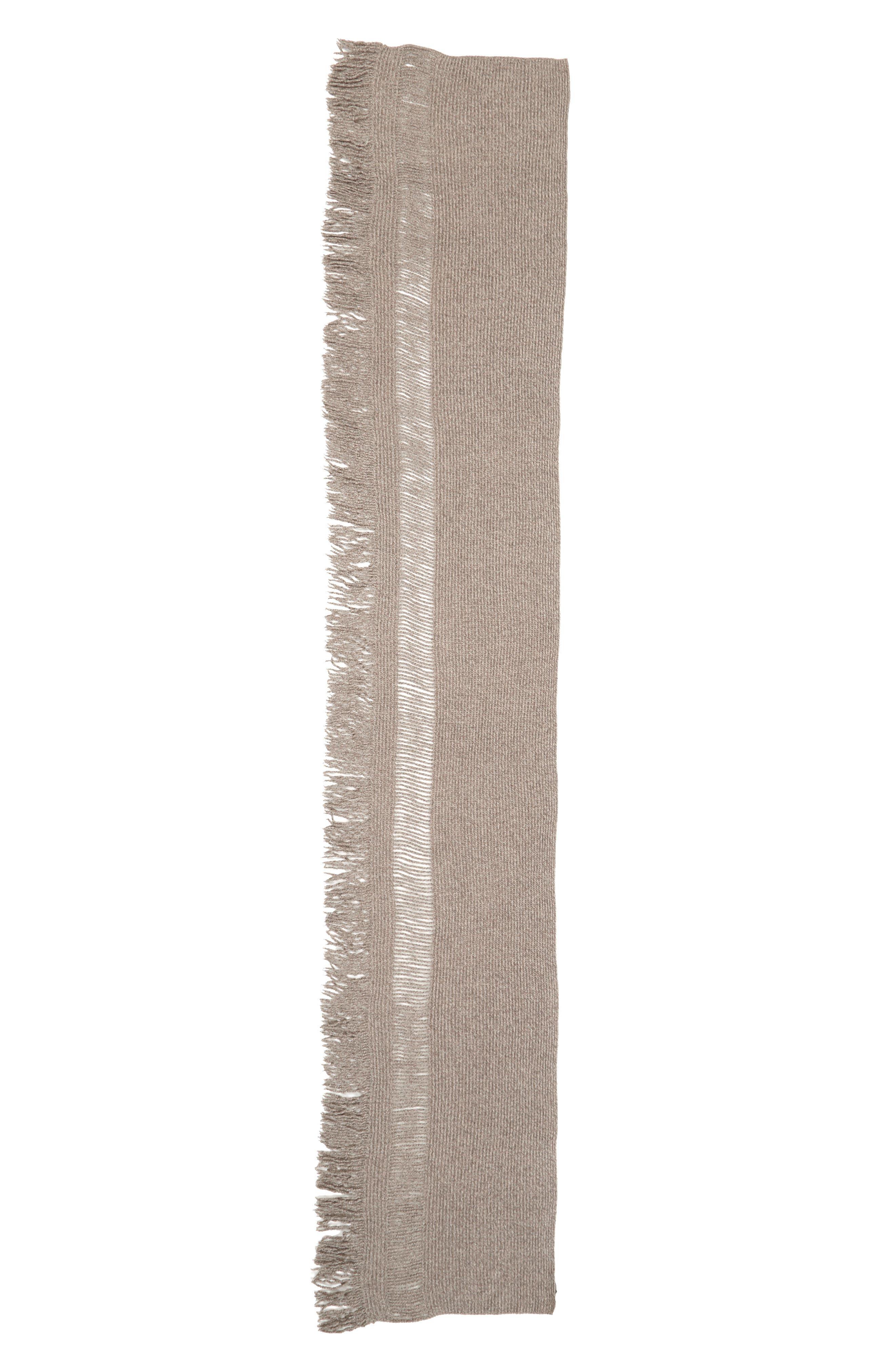 Alternate Image 2  - Stella McCartney Fringe Cashmere & Wool Scarf