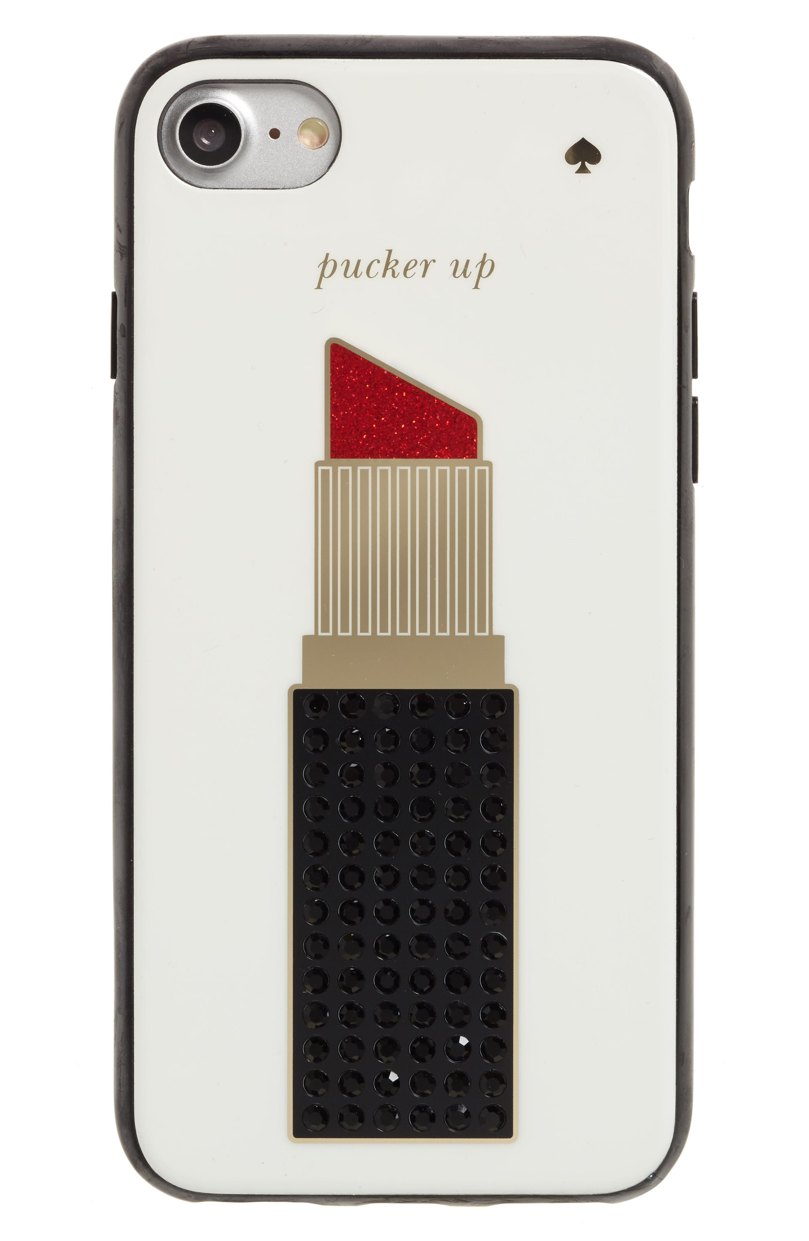KATE SPADE NEW YORK pucker up iPhone 7 case