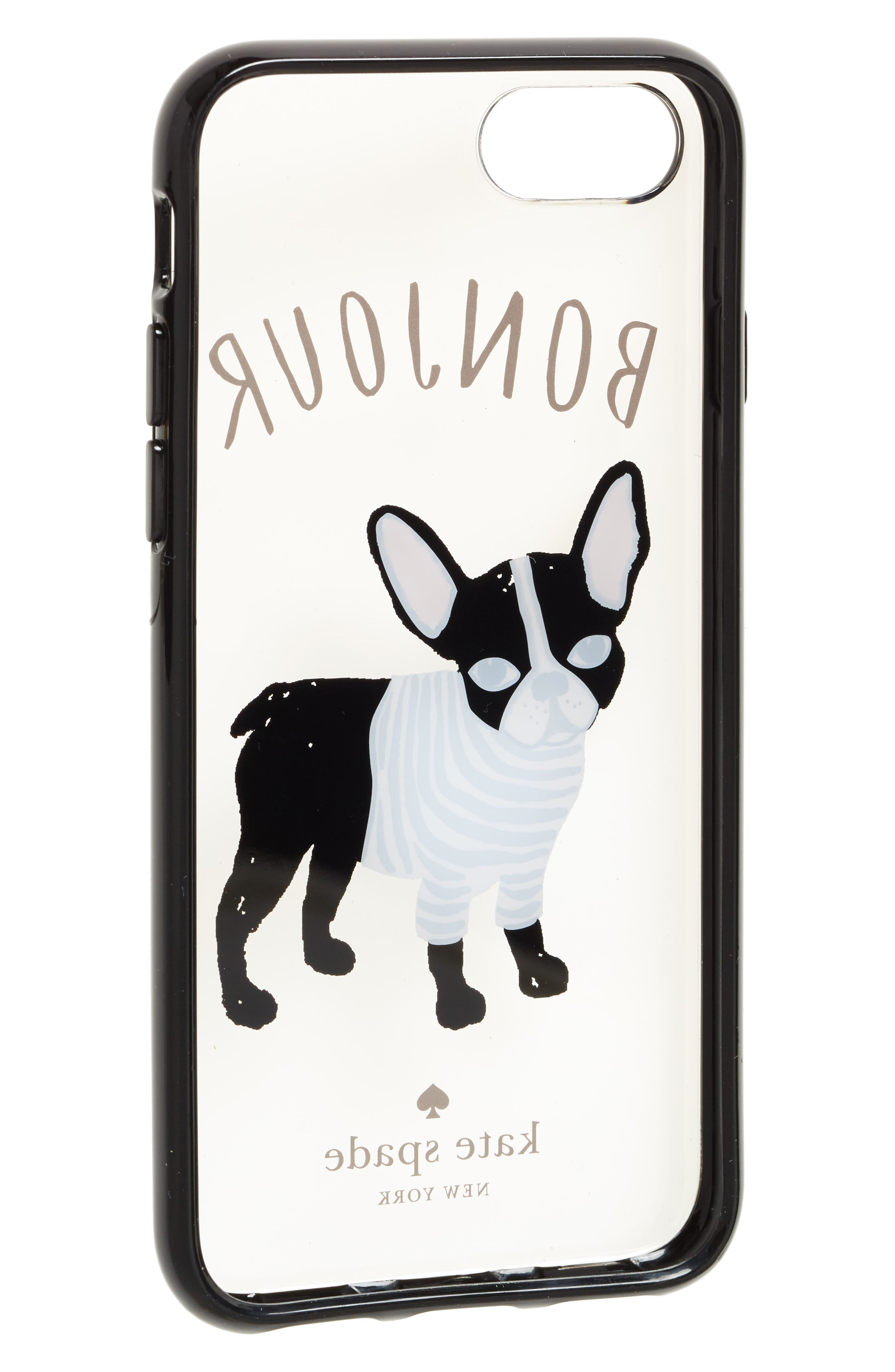 Alternate Image 2  - kate spade new york bonjour iPhone 7/8 & 7/8 Plus case