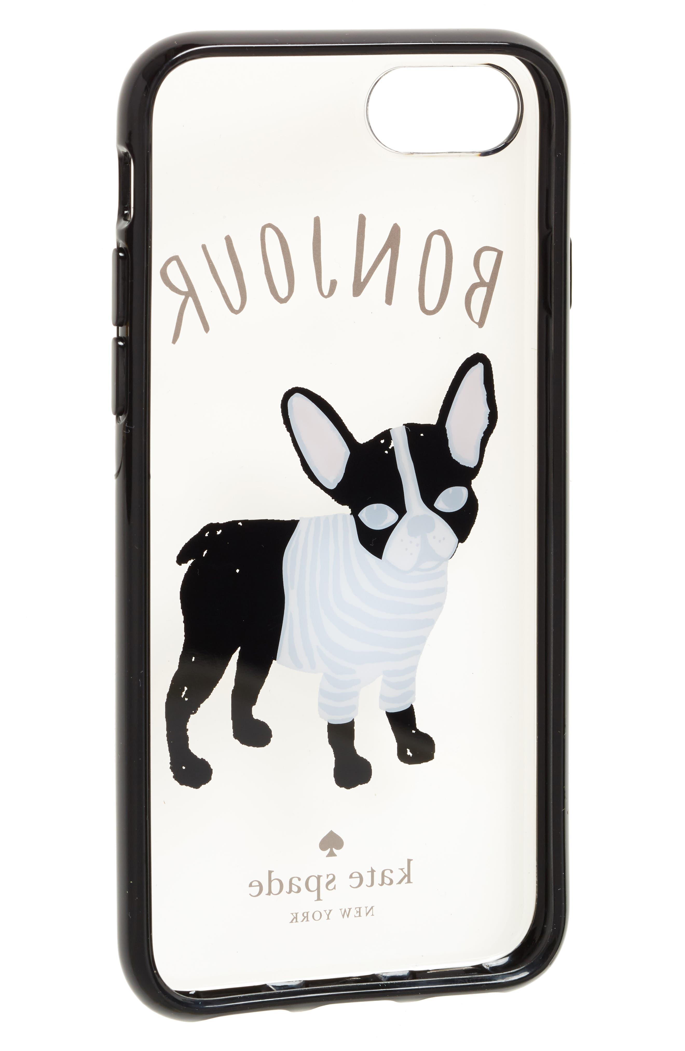 bonjour iPhone 7/8 & 7/8 Plus case,                             Alternate thumbnail 2, color,                             Clear Multi