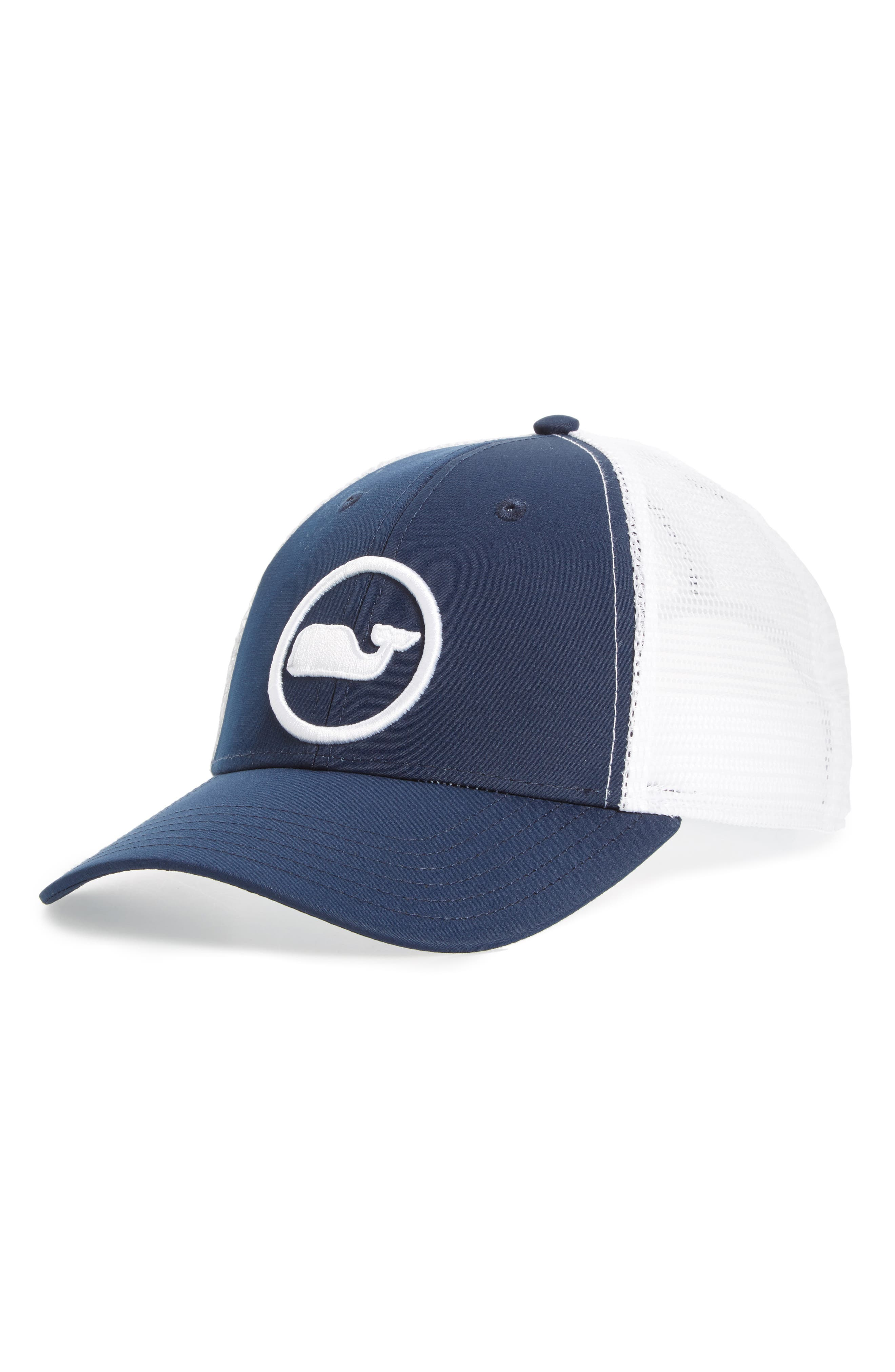 vineyard vines Whale Dot Trucker Cap