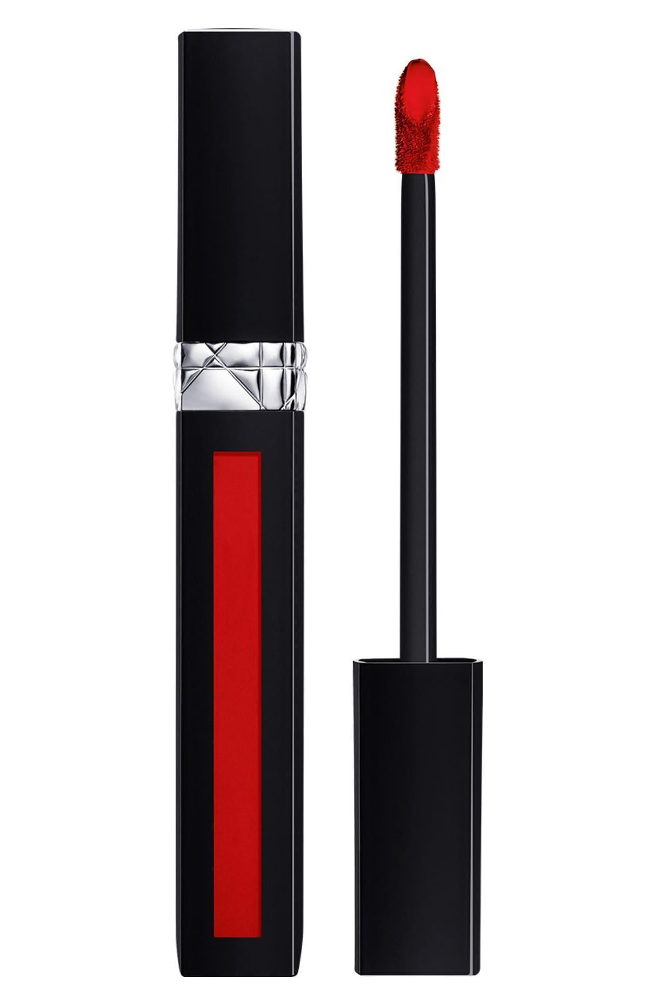 Rouge Dior Liquid Lip Stain,                             Main thumbnail 1, color,                             999 Matte