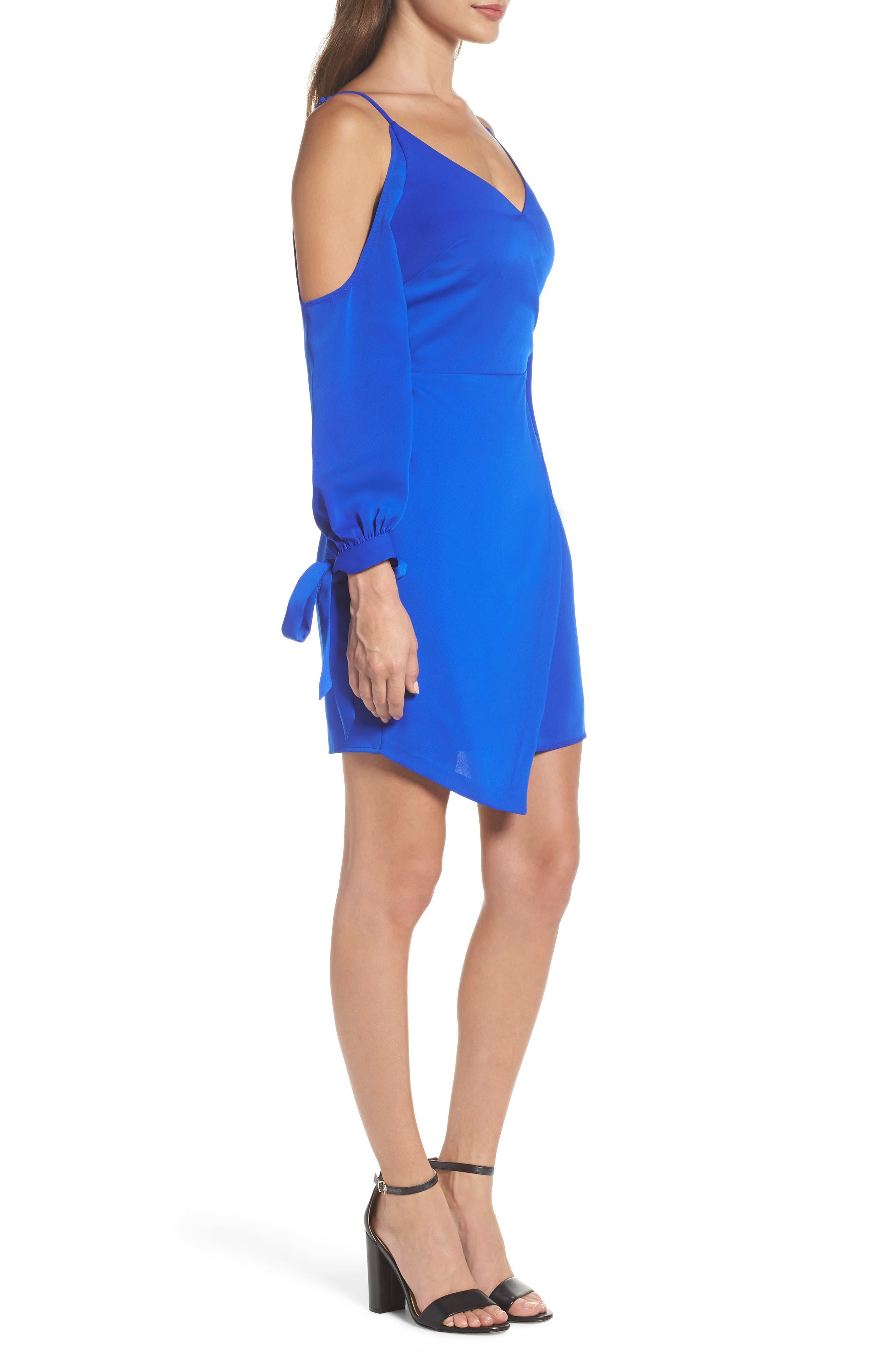 Alternate Image 3  - Adelyn Rae Amelia Cold Shoulder Sheath Dress