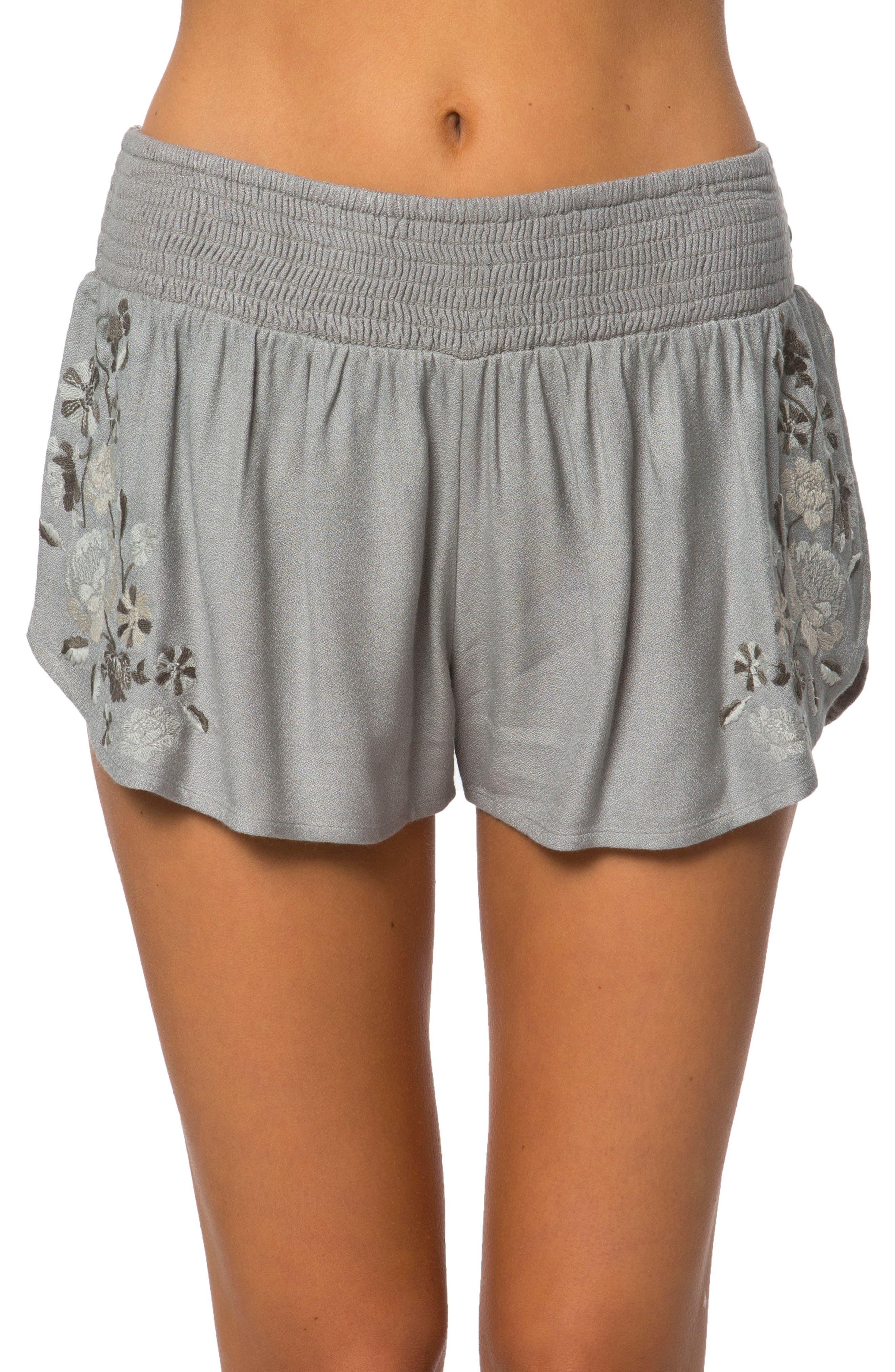 Maui Beach Shorts,                         Main,                         color, Grey