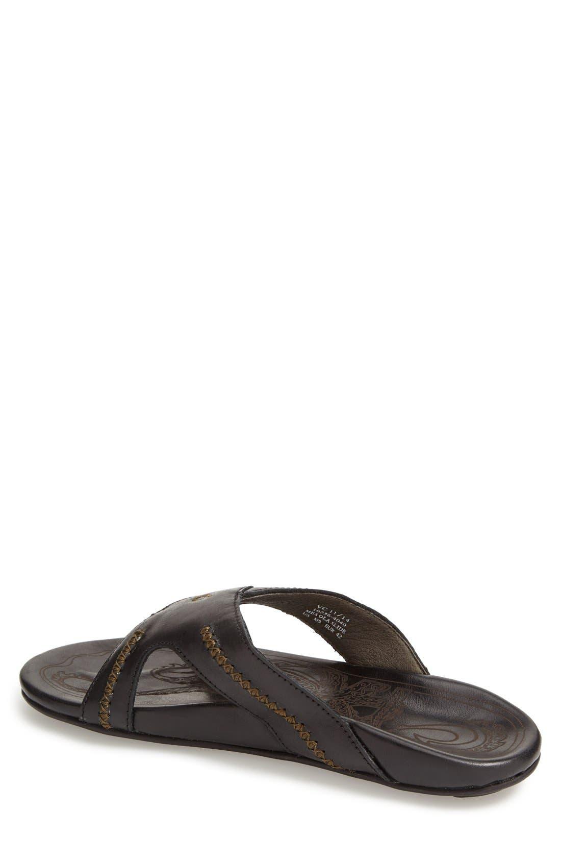 Alternate Image 2  - OluKai 'Mea Ola' Slide Sandal (Men)