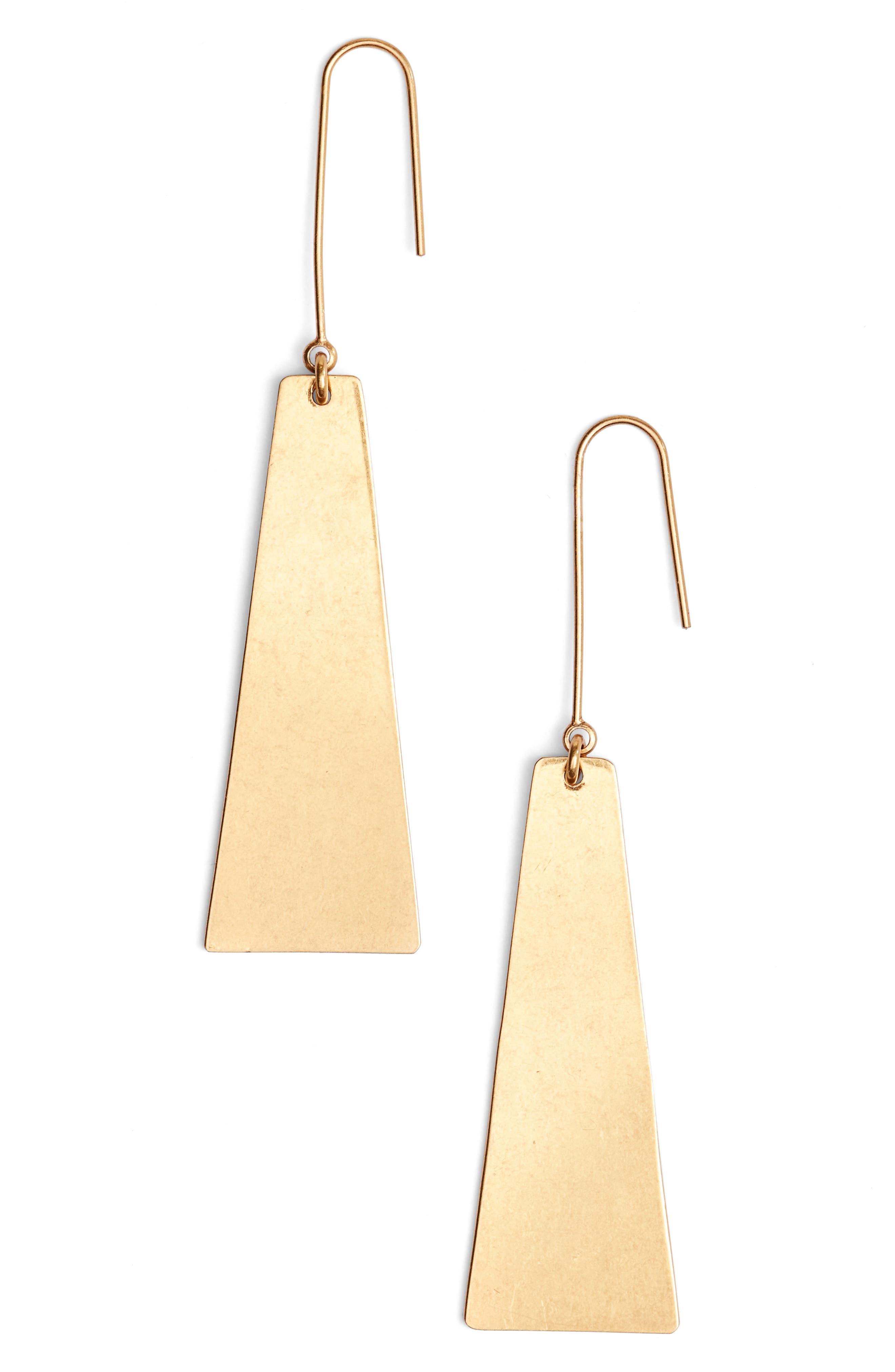 Madewell Petaldrop Earrings