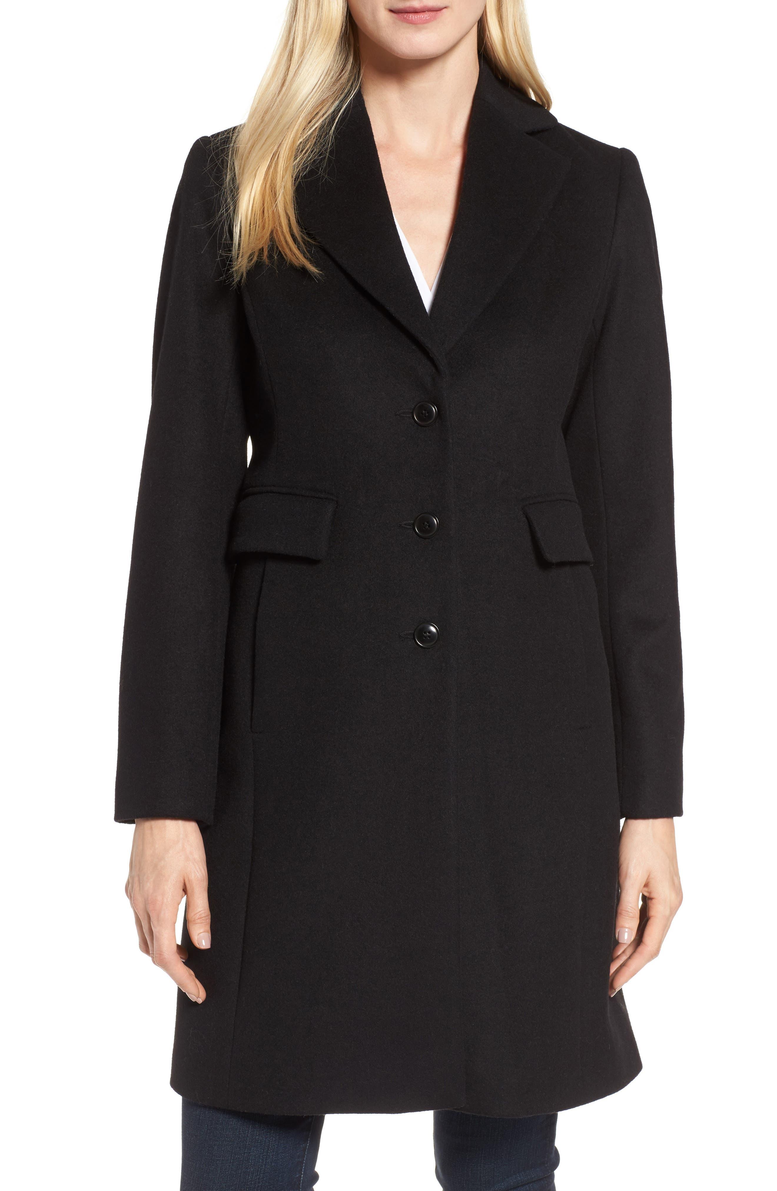 Walking Coat,                         Main,                         color, Black