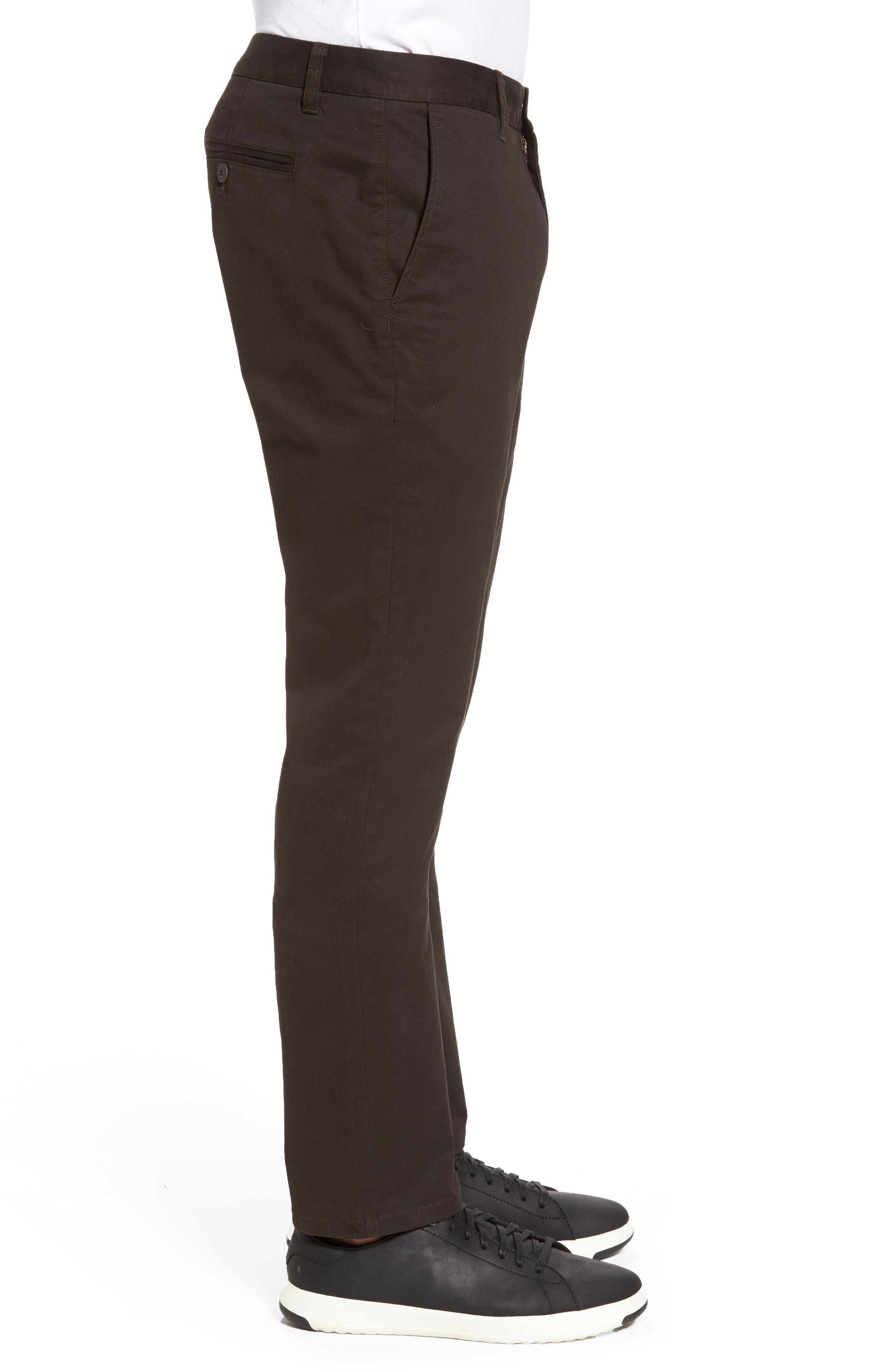 Tellis Modern Slim Twill Pants,                             Alternate thumbnail 3, color,                             2 Years Field Stone
