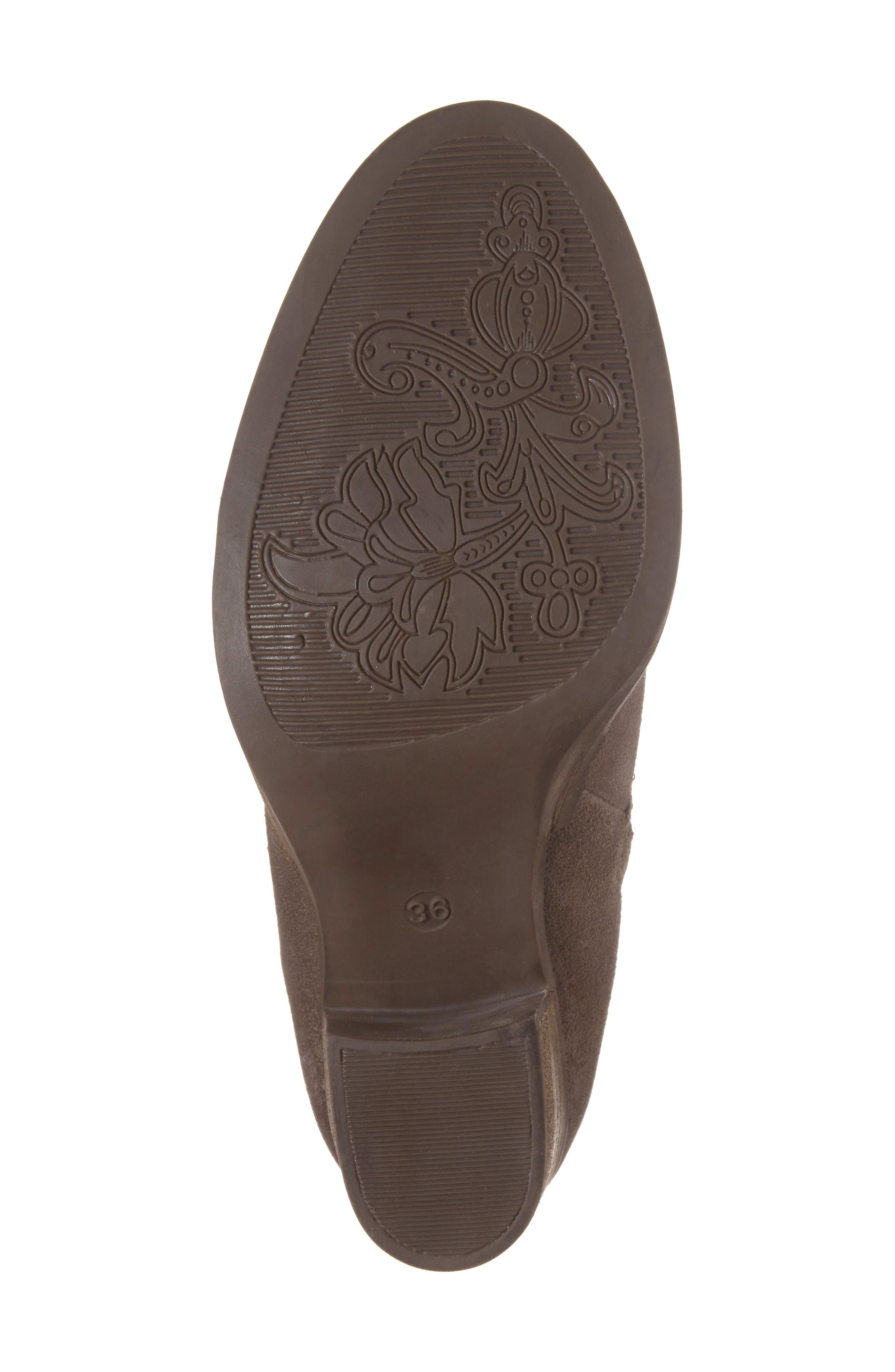 'Belfield' Waterproof Chelsea Boot,                             Alternate thumbnail 6, color,                             Grey Suede