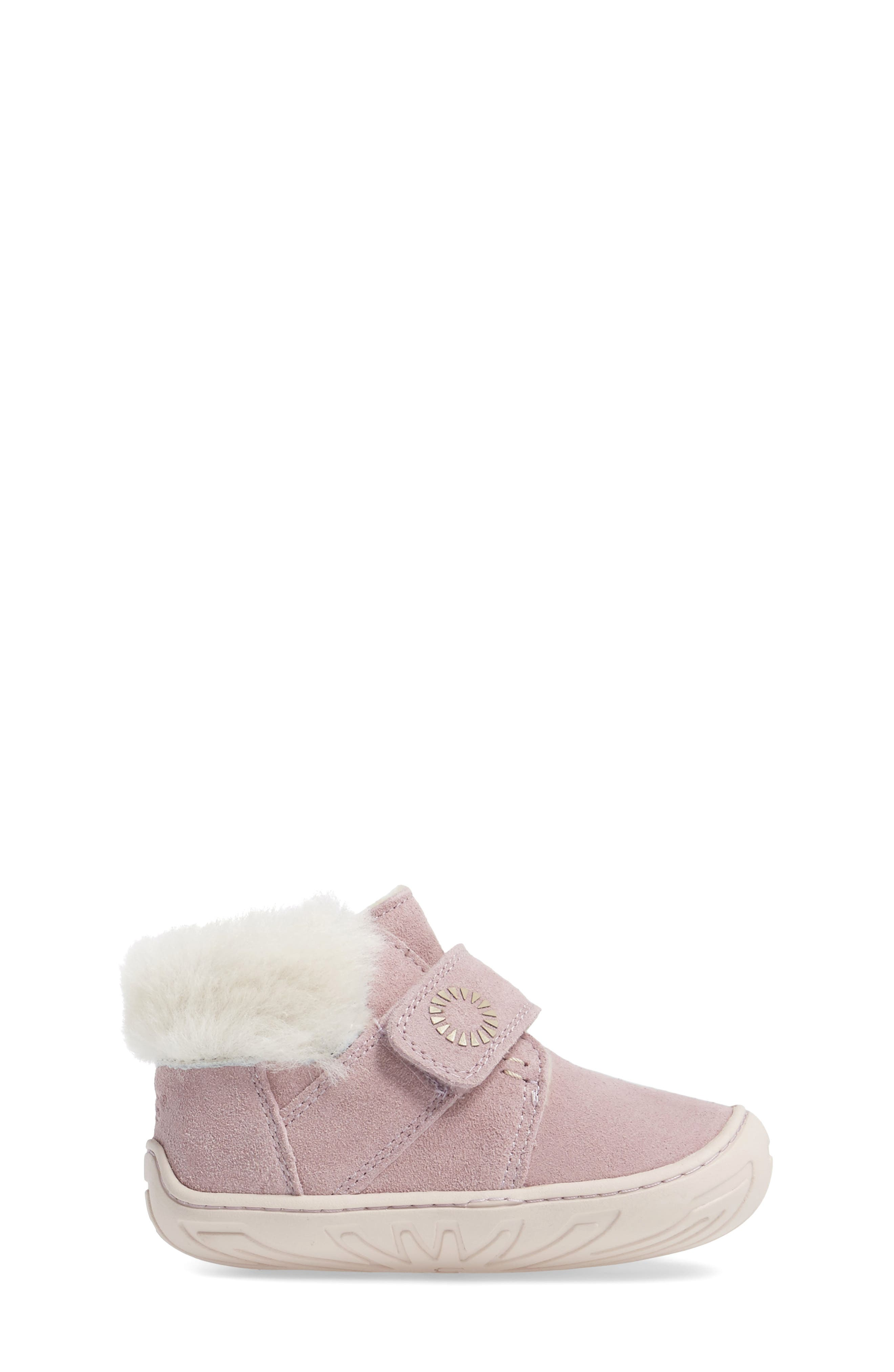Alternate Image 3  - UGG® Jorgen Genuine Shearling Bootie (Baby, Walker & Toddler)