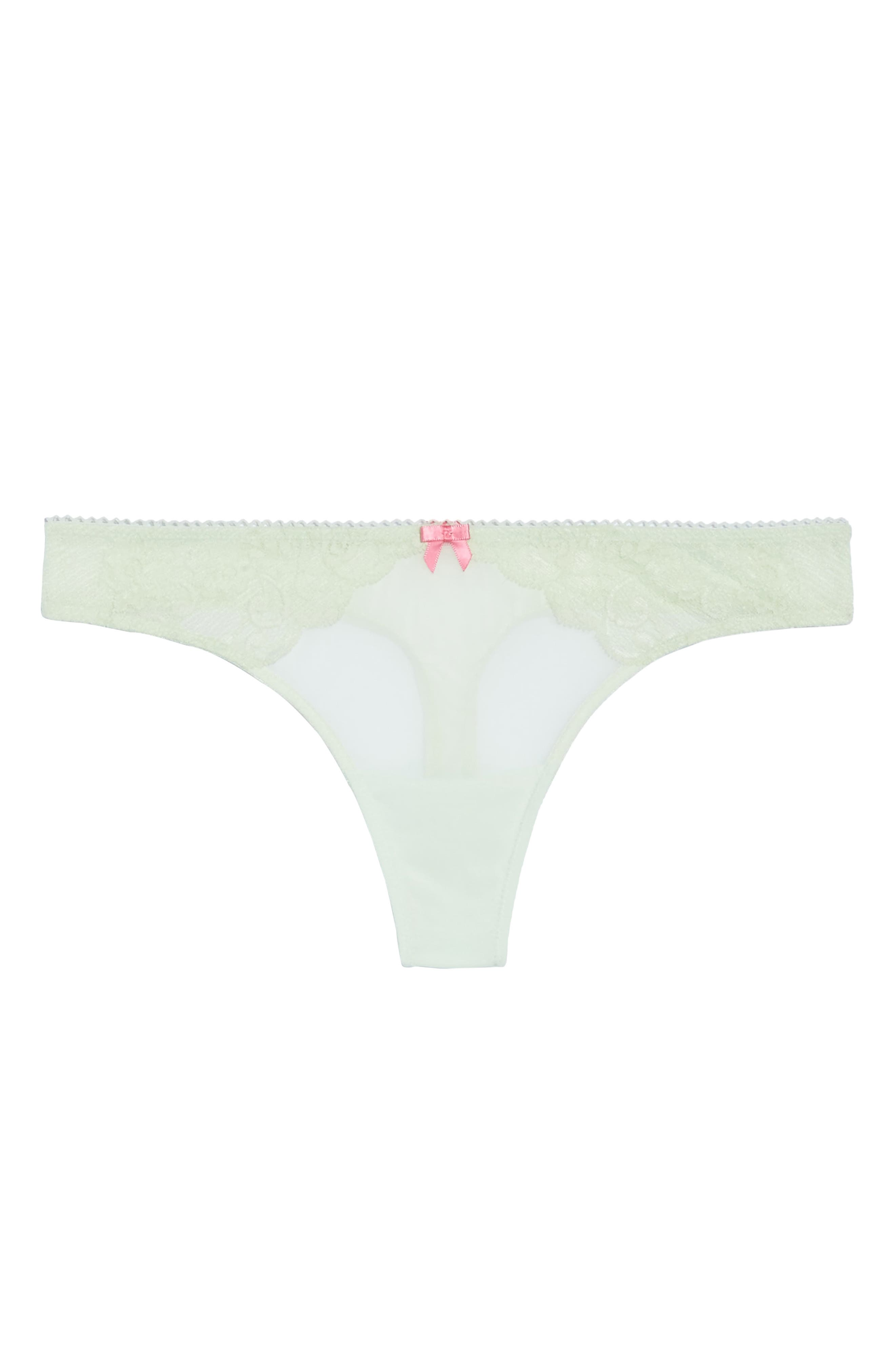 Alternate Image 4  - Betsey Johnson Flirt & Fun Thong (3 for $33)