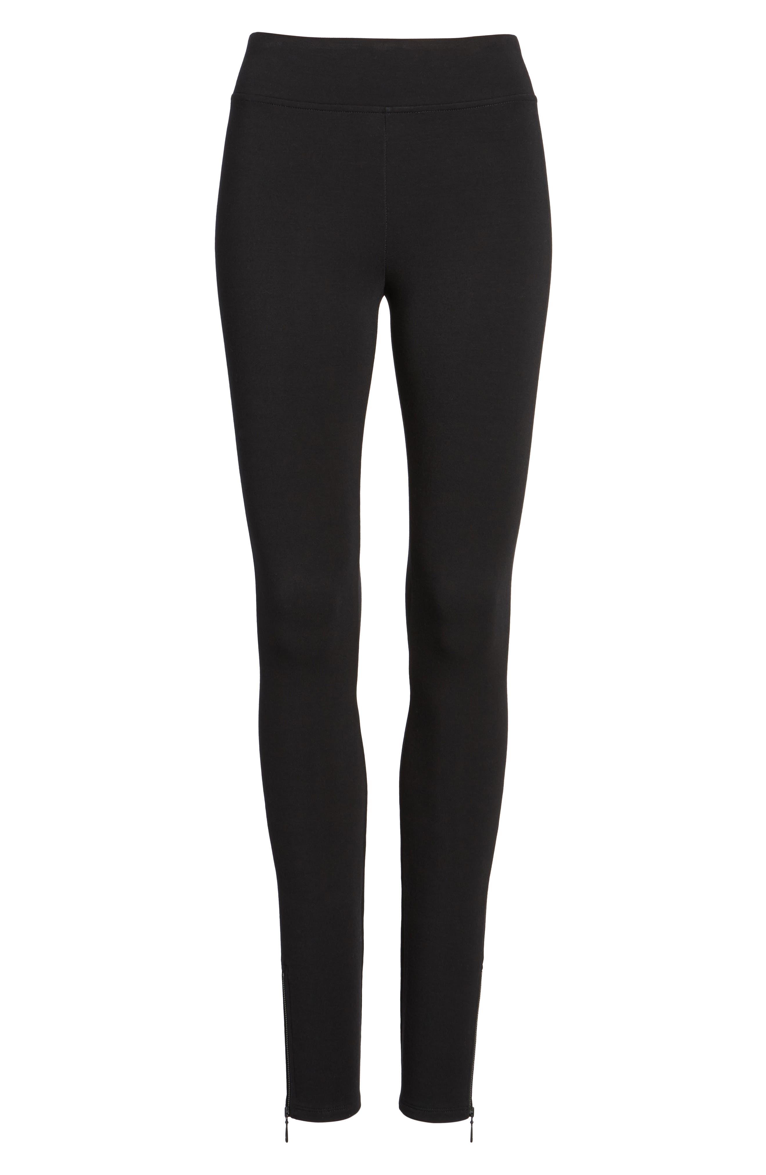 Alternate Image 6  - NIC + ZOE Cozy Zipper Leggings